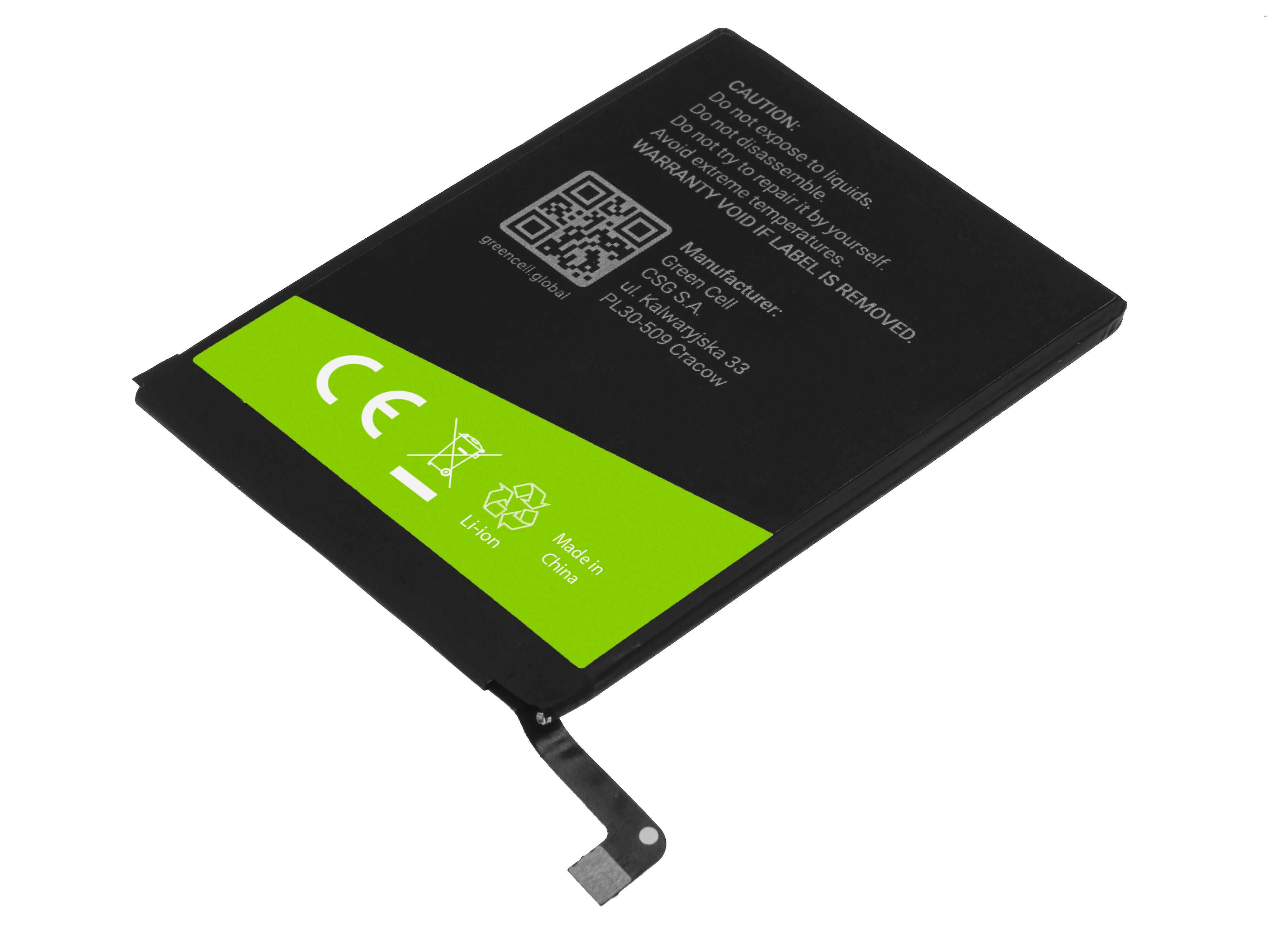 Green Cell BP125 Baterie Huawei HB396285ECW, Huawei P20/Honor 10 3300mAh Li-Ion – neoriginální