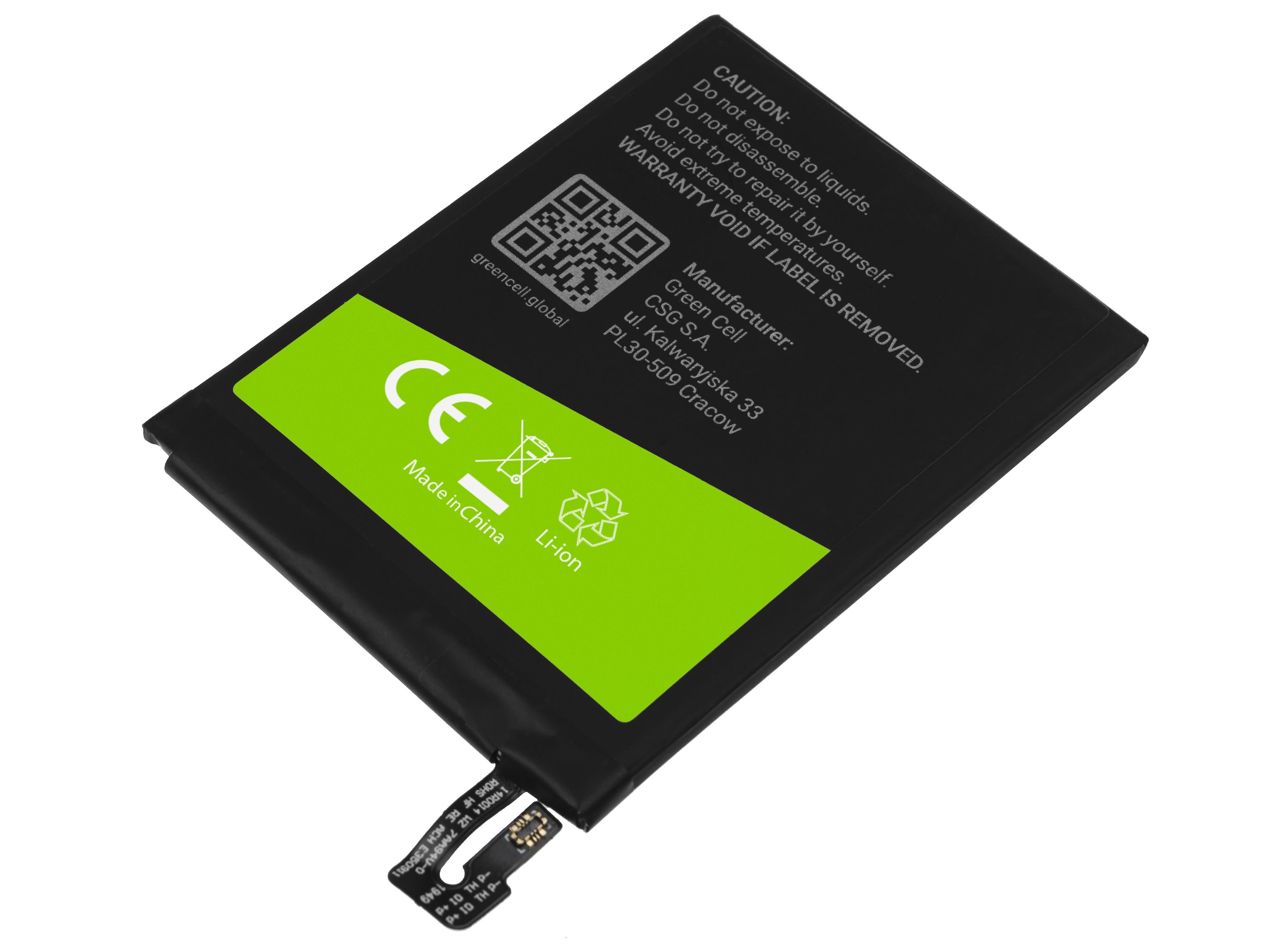 Green Cell BP127 Baterie Xiaomi BN48,Xiaomi Redmi Note 6 Pro 3900mAh Li-Ion – neoriginální