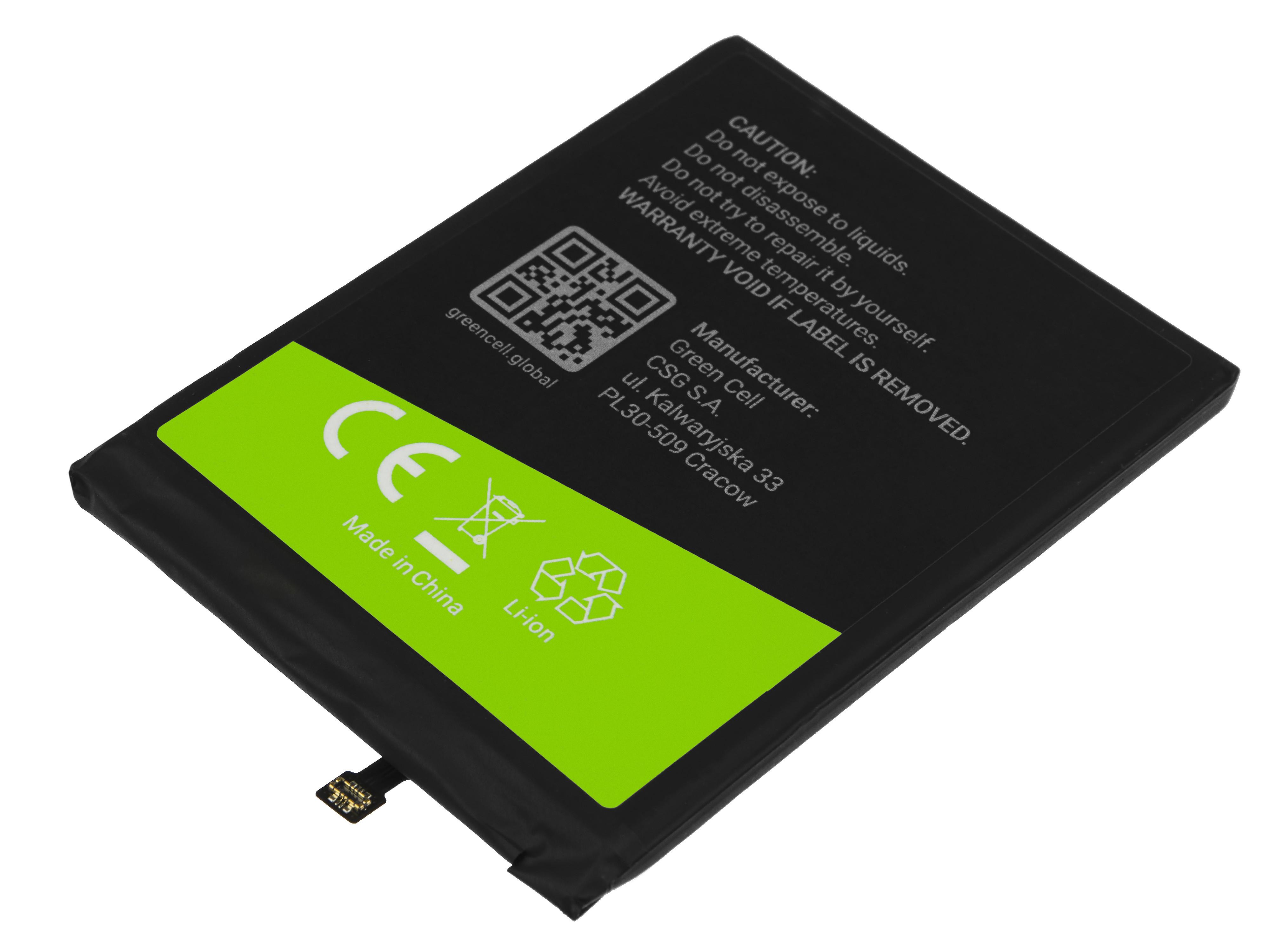 Battery Green Cell BN46 for Xiaomi Redmi 7 / Redmi Note 3