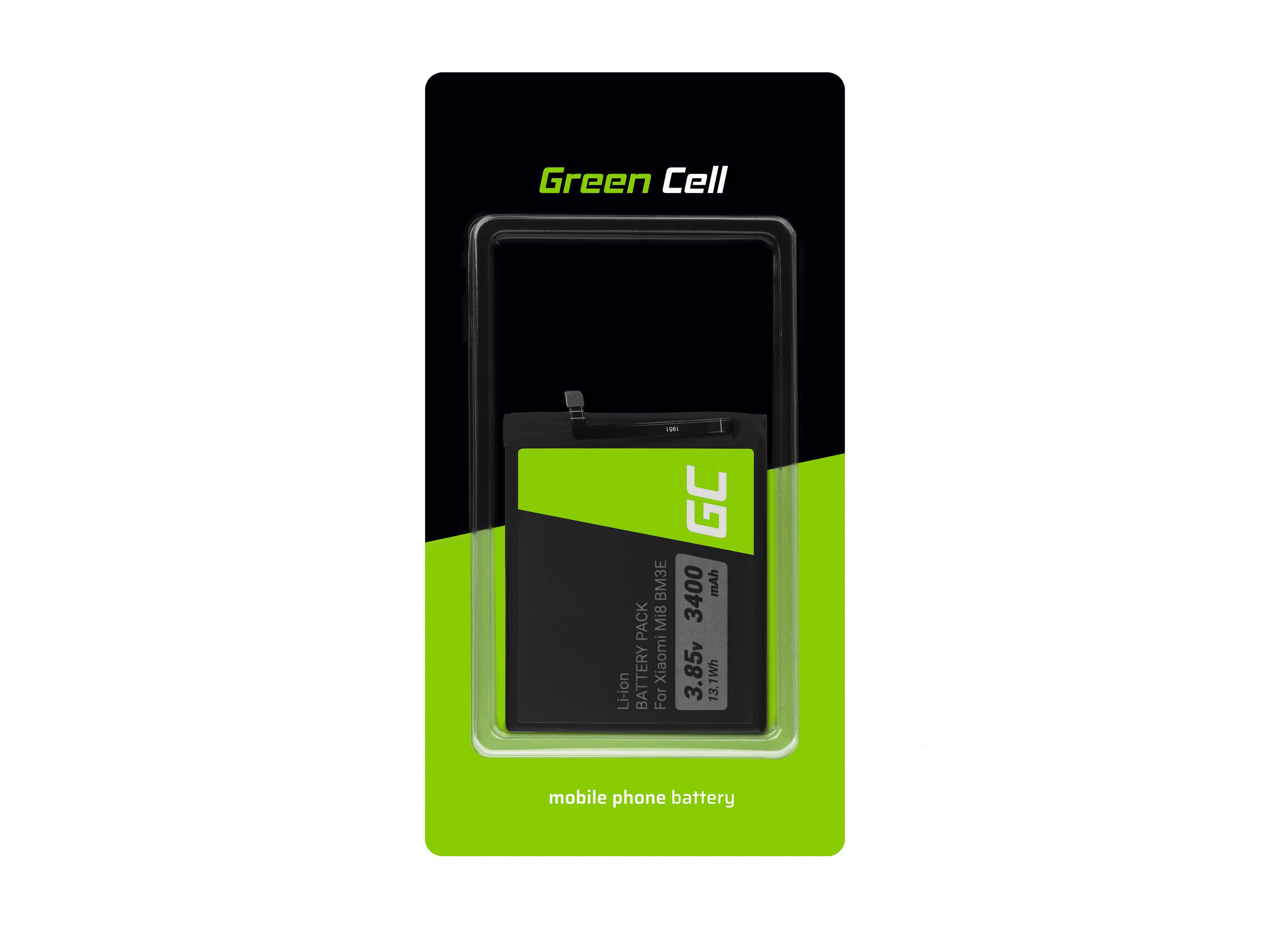 Green Cell Baterie BM3E pro Xiaomi Mi 8