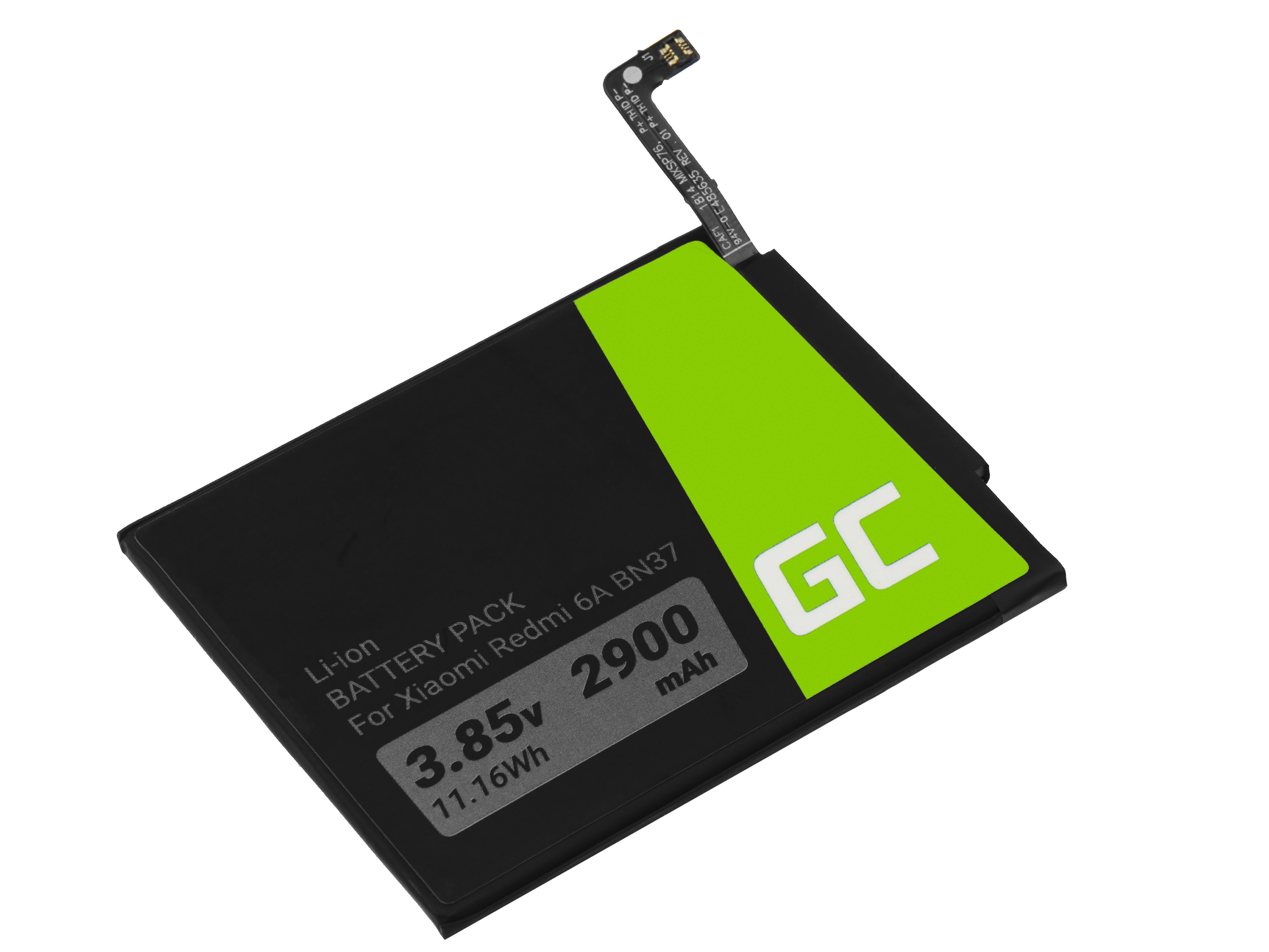 Green Cell BP132 Baterie Xiaomi BN37, Xiaomi Redmi 6A 2900mAh Li-Ion – neoriginální