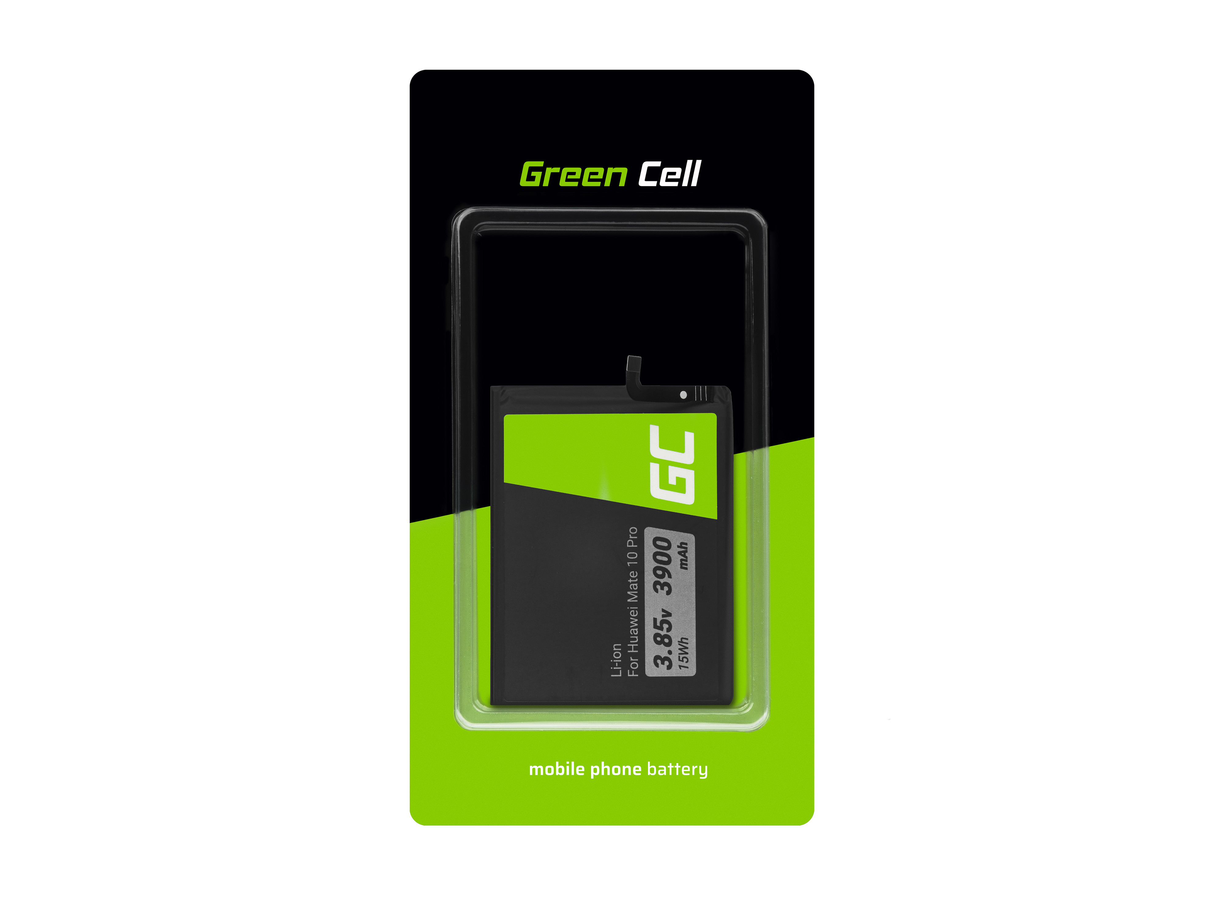 Green Cell BP133 Baterie Huawei HB436486ECW, Huawei Mate 10 / Mate 20 3900mAh Li-Ion – neoriginální