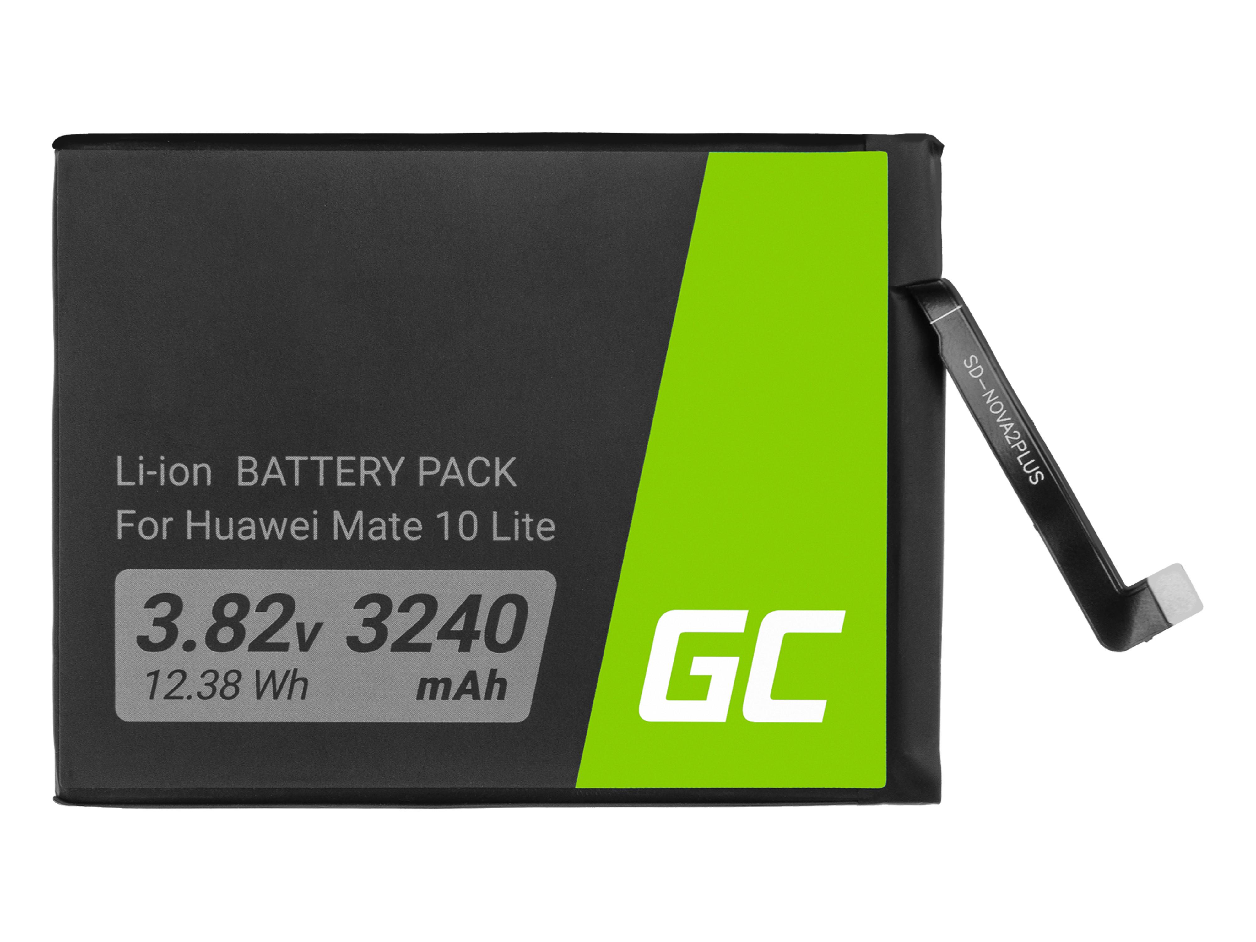 Green Cell BP134 Baterie Huawei HB356687ECW, Huawei Mate 10 Lite 3240mAh Li-Ion – neoriginální