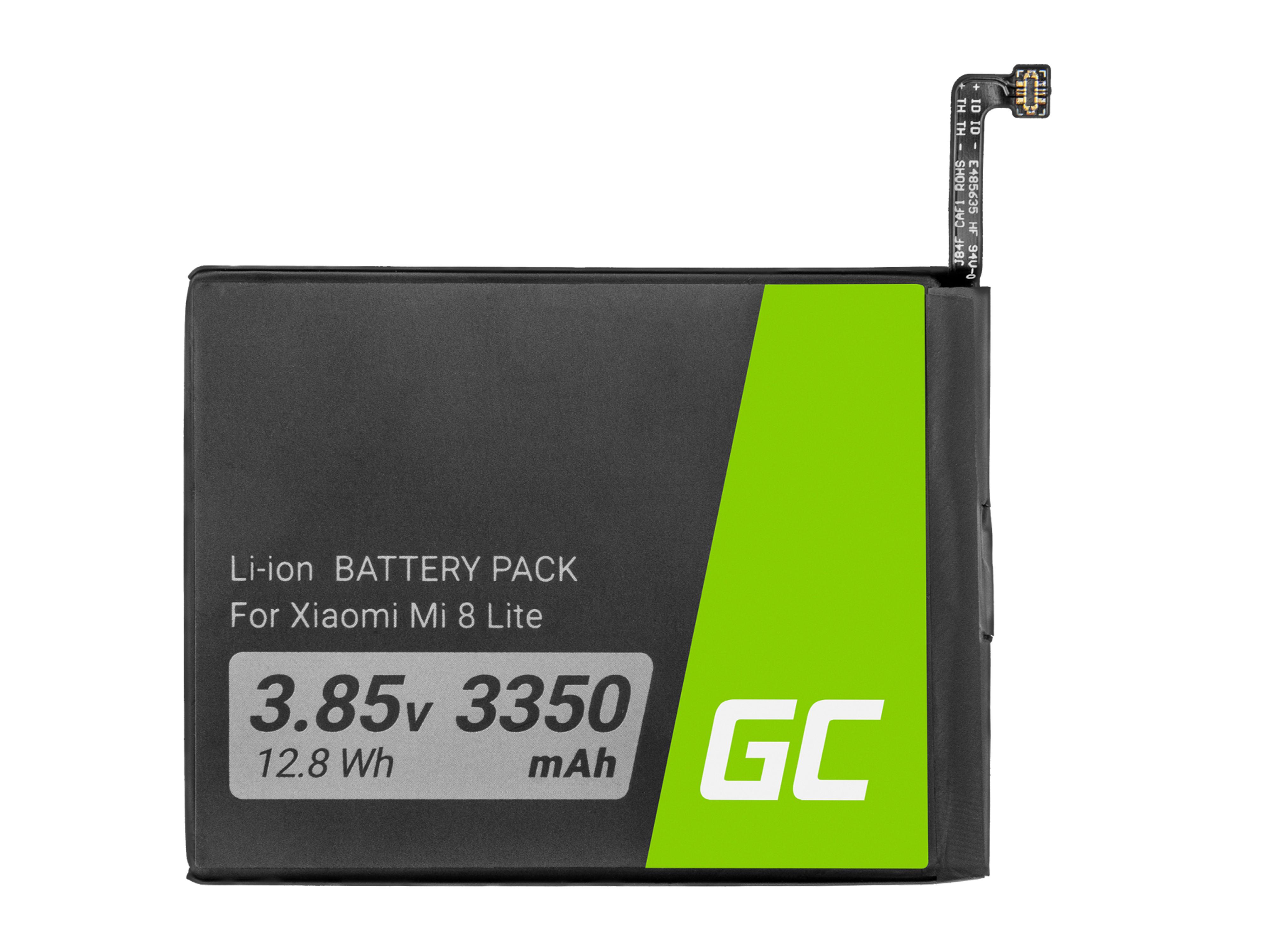 Green Cell BP137 Baterie Xiaomi BM3J, Xiaomi Mi 8 Lite 3350mAh Li-Ion – neoriginální