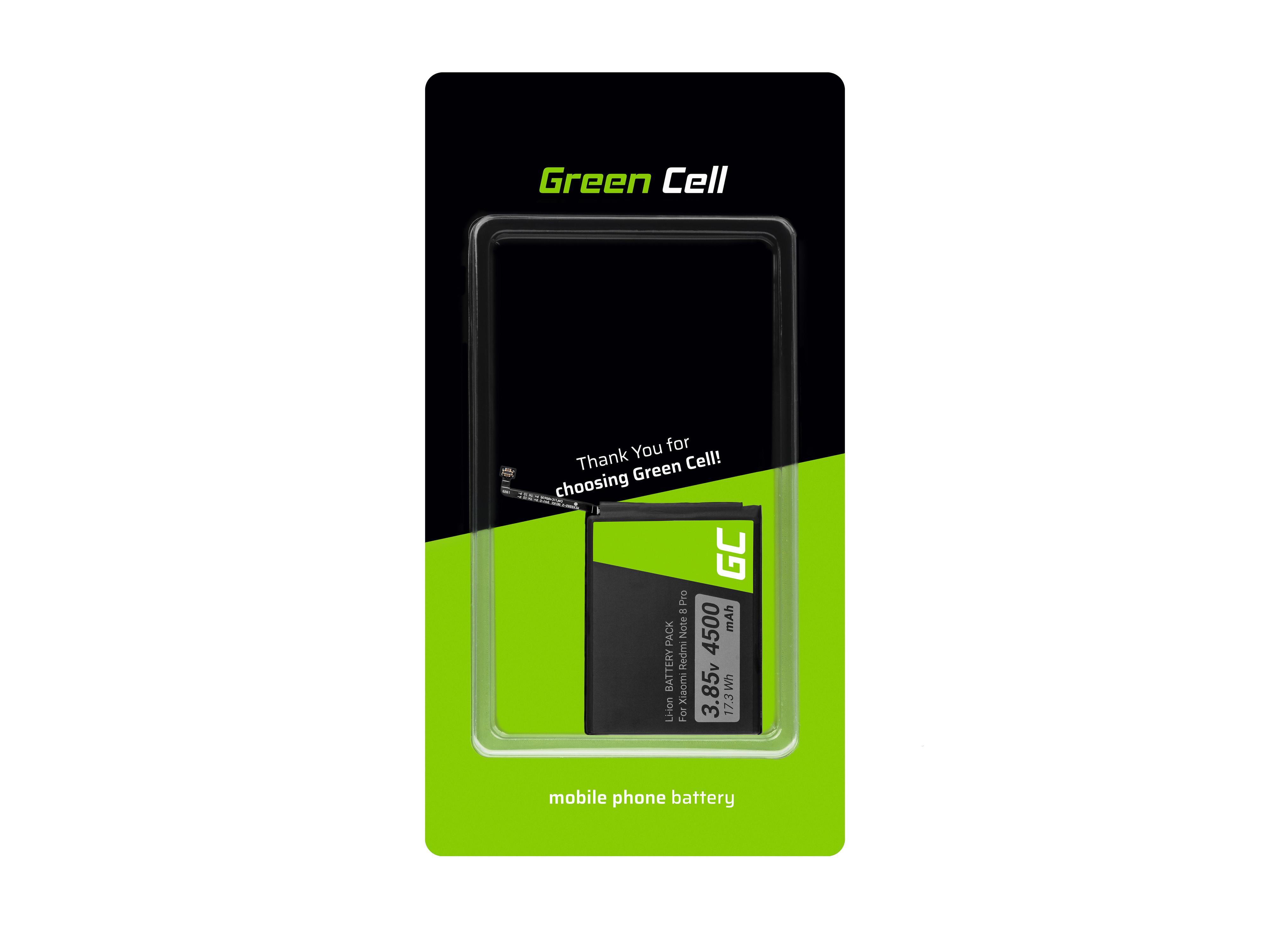 Green Cell Baterie BM4J pro Xiaomi Redmi Note 8 Pro