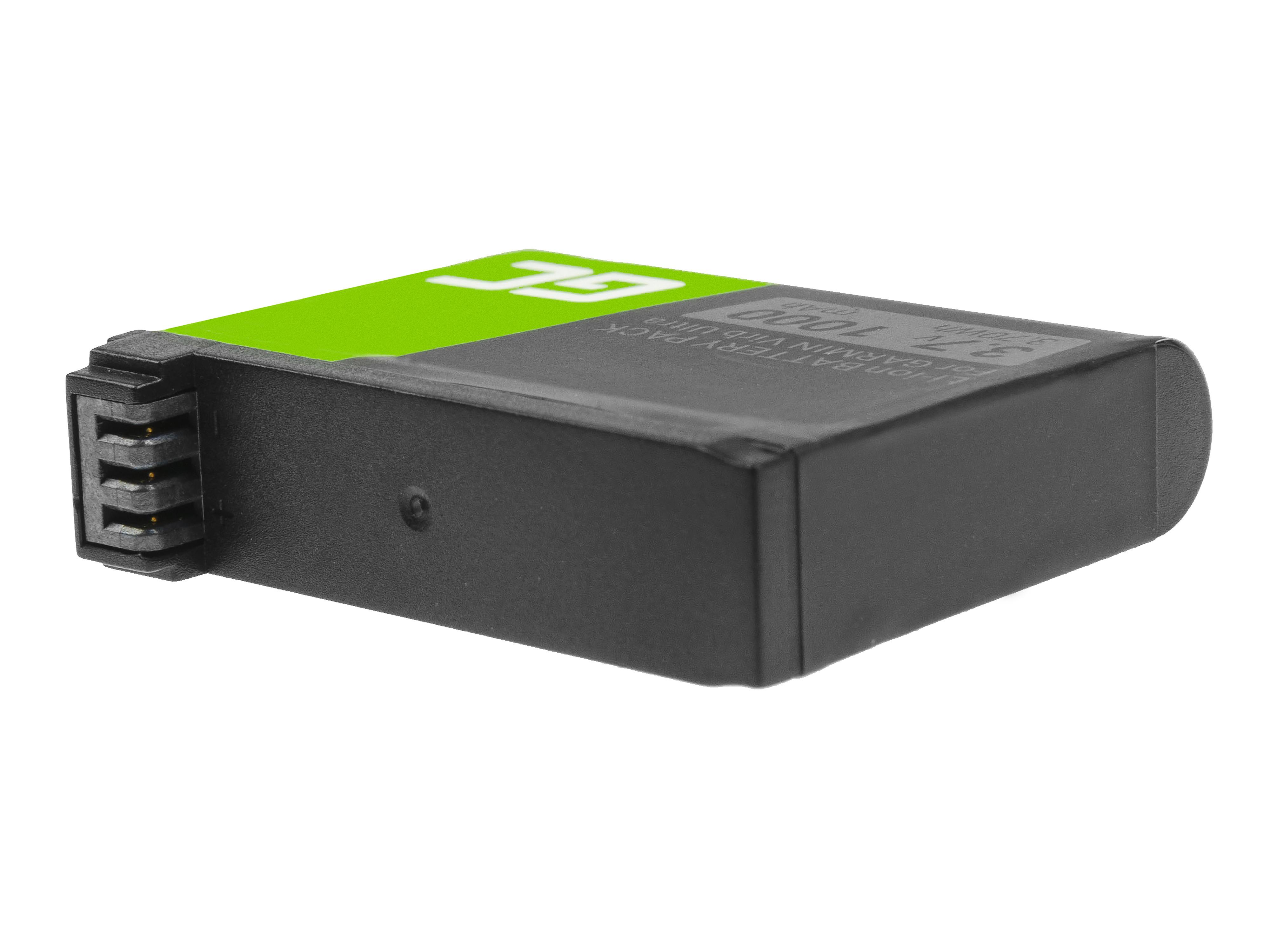 Baterie Green Cell 361-00087-00 010-12389-15, Garmin Virb Ultra 30 3.7V 1000mAh Li-Ion – neoriginální