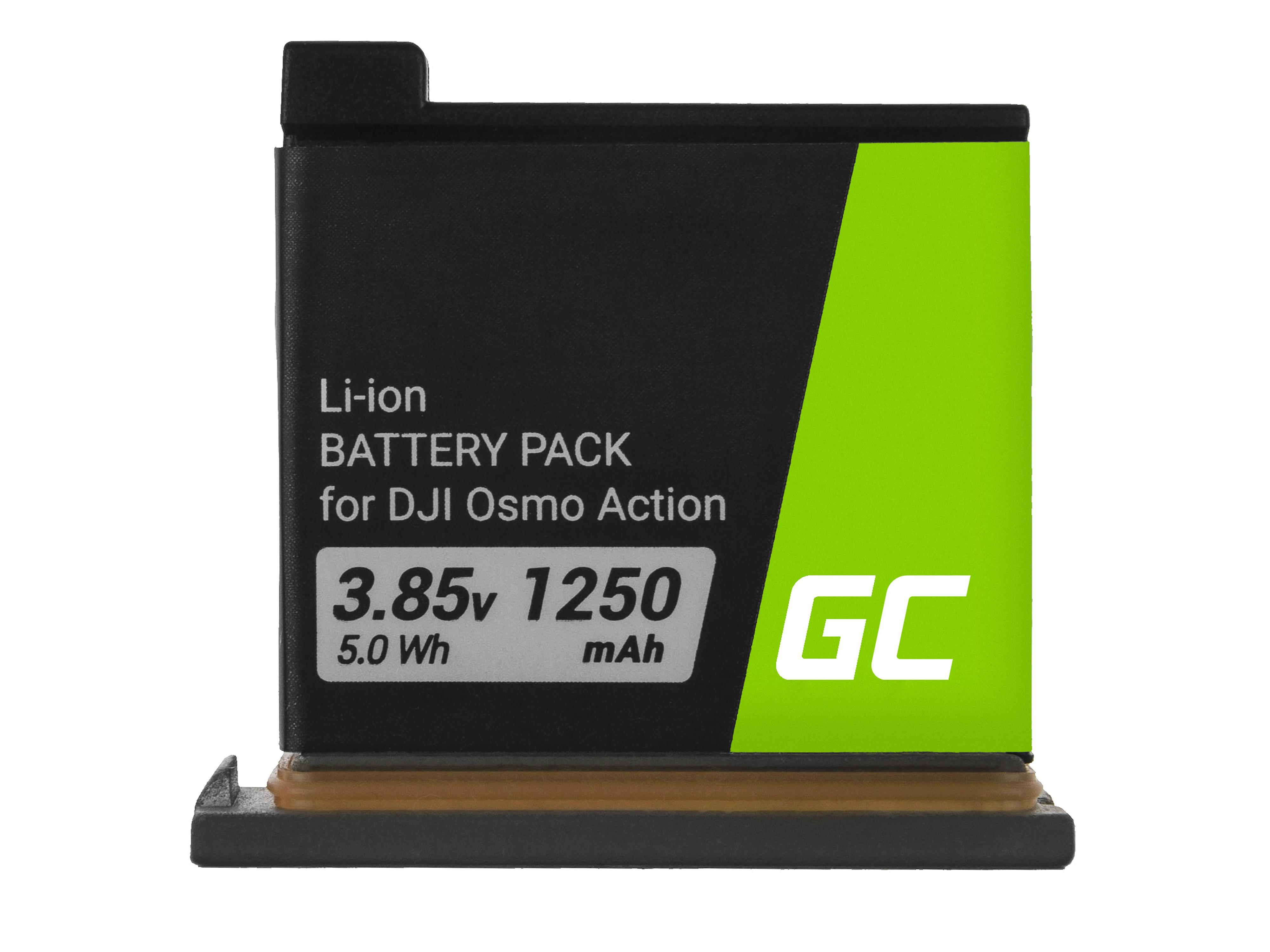 Green Cell CB89 Baterie DJI AB1,DJI OSMO Action 1250mAh Li-Ion – neoriginální