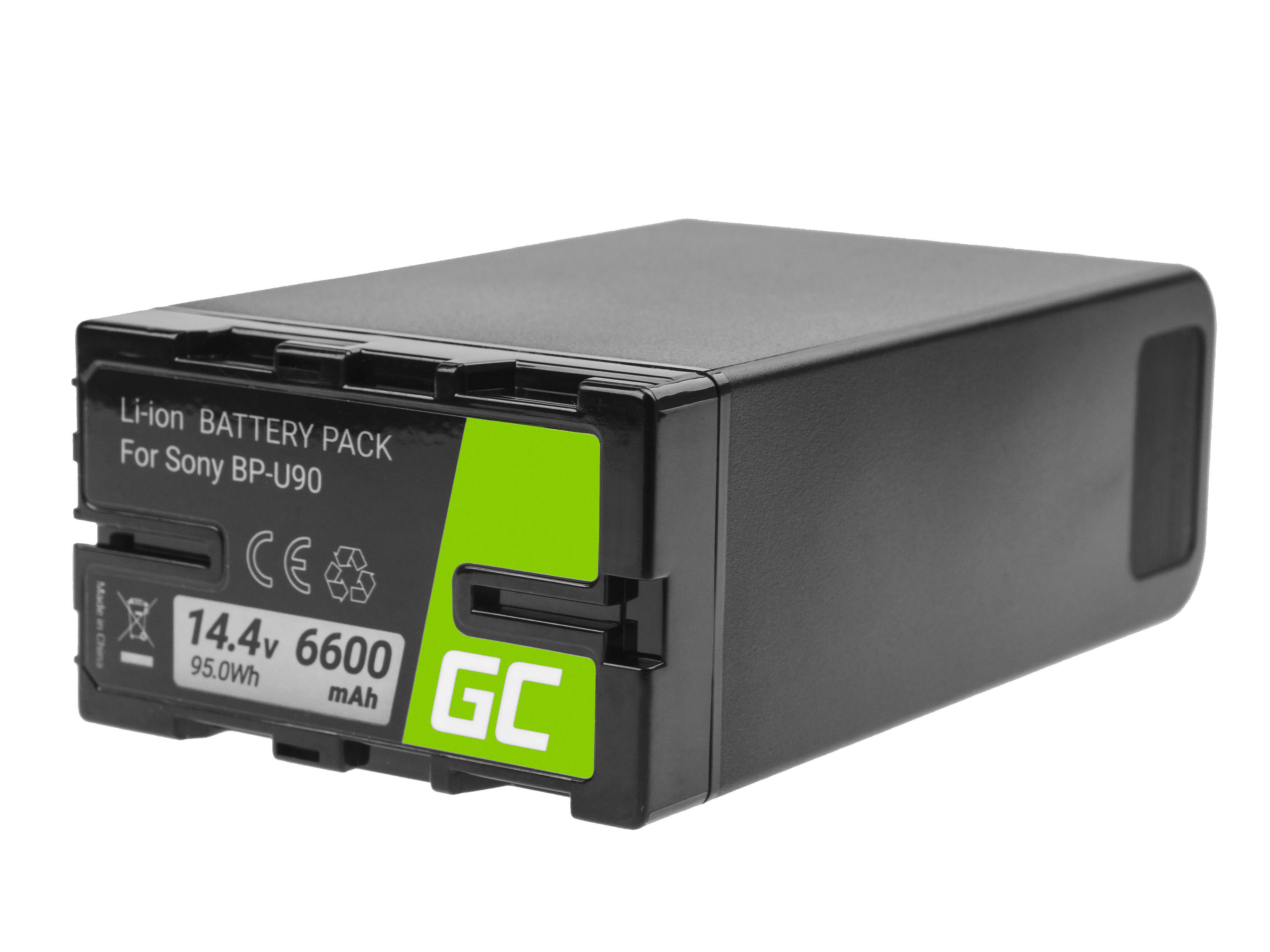 Battery Green Cell BP-U90 BP-U60 BP-U30 for Sony 6600mAh 95Wh 14.4V