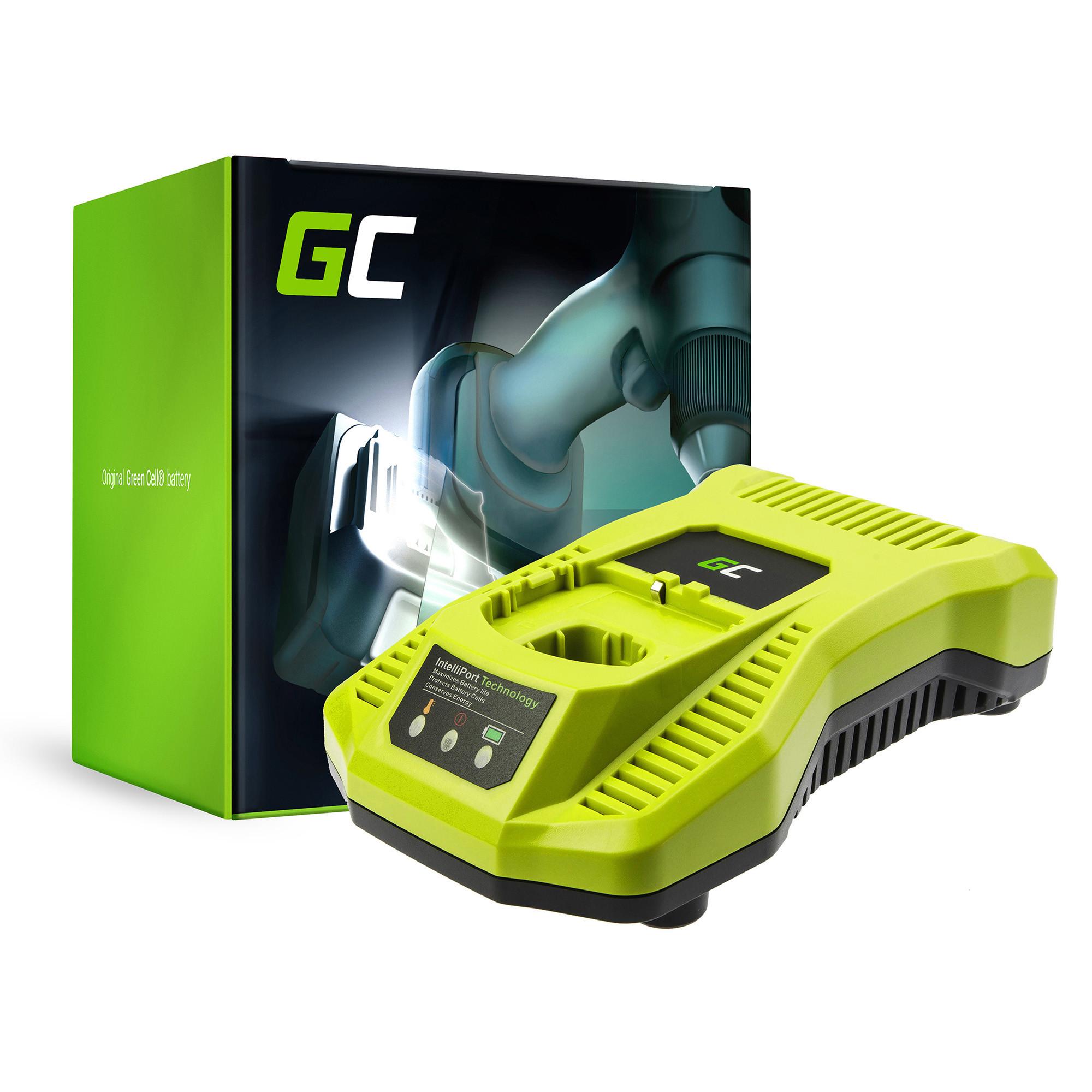 Green Cell Nabíječka P117 pro Aku nářadí Ryobi RB18L13 RB18L15 RB18L20 RB18L25 RB18L26 RBL1830H RB18L50 RB18L40 18V 2A