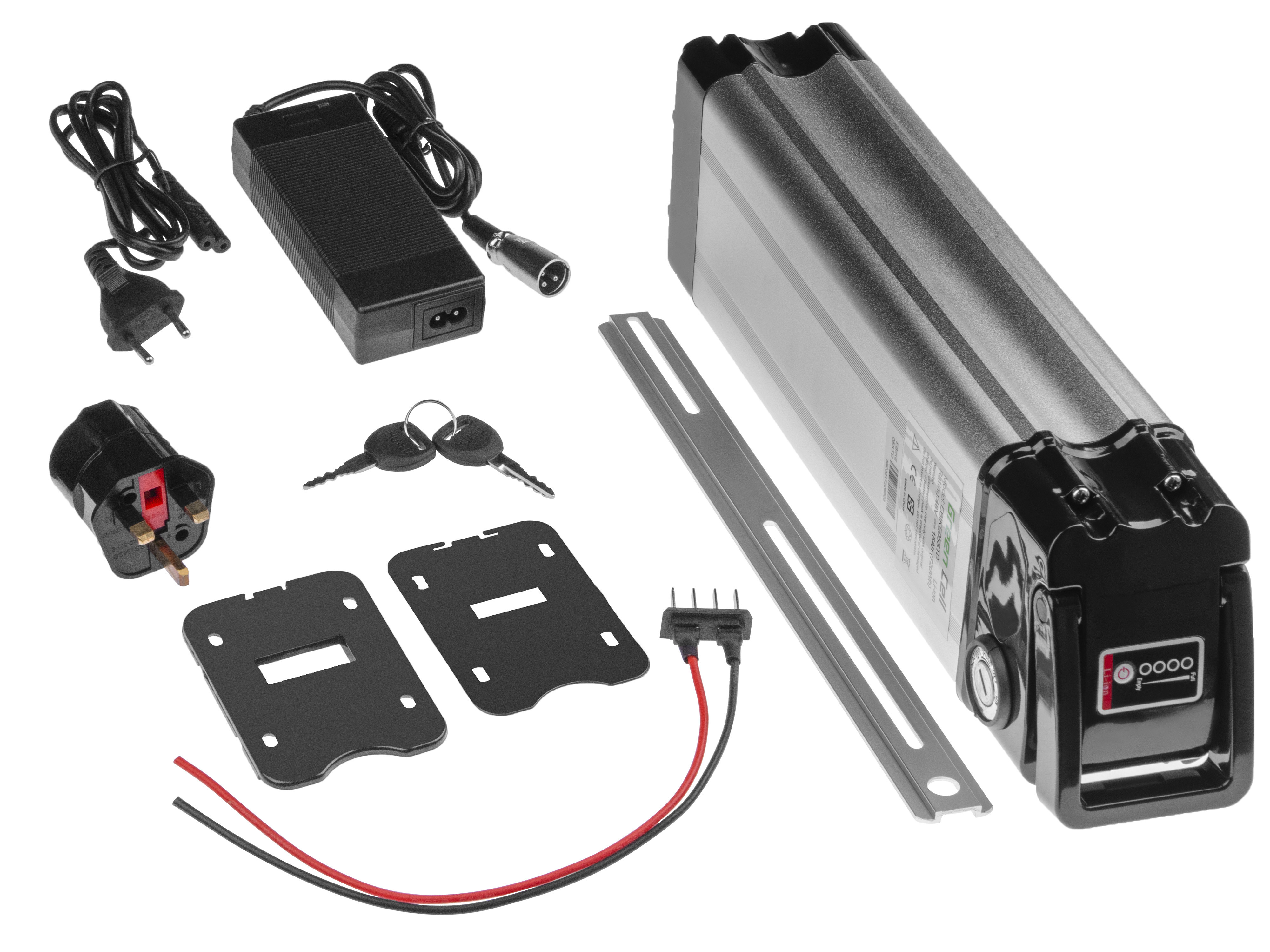 Green Cell Baterie Silverfish 48V 17.4Ah 835Wh pro E-Bike Pedelec