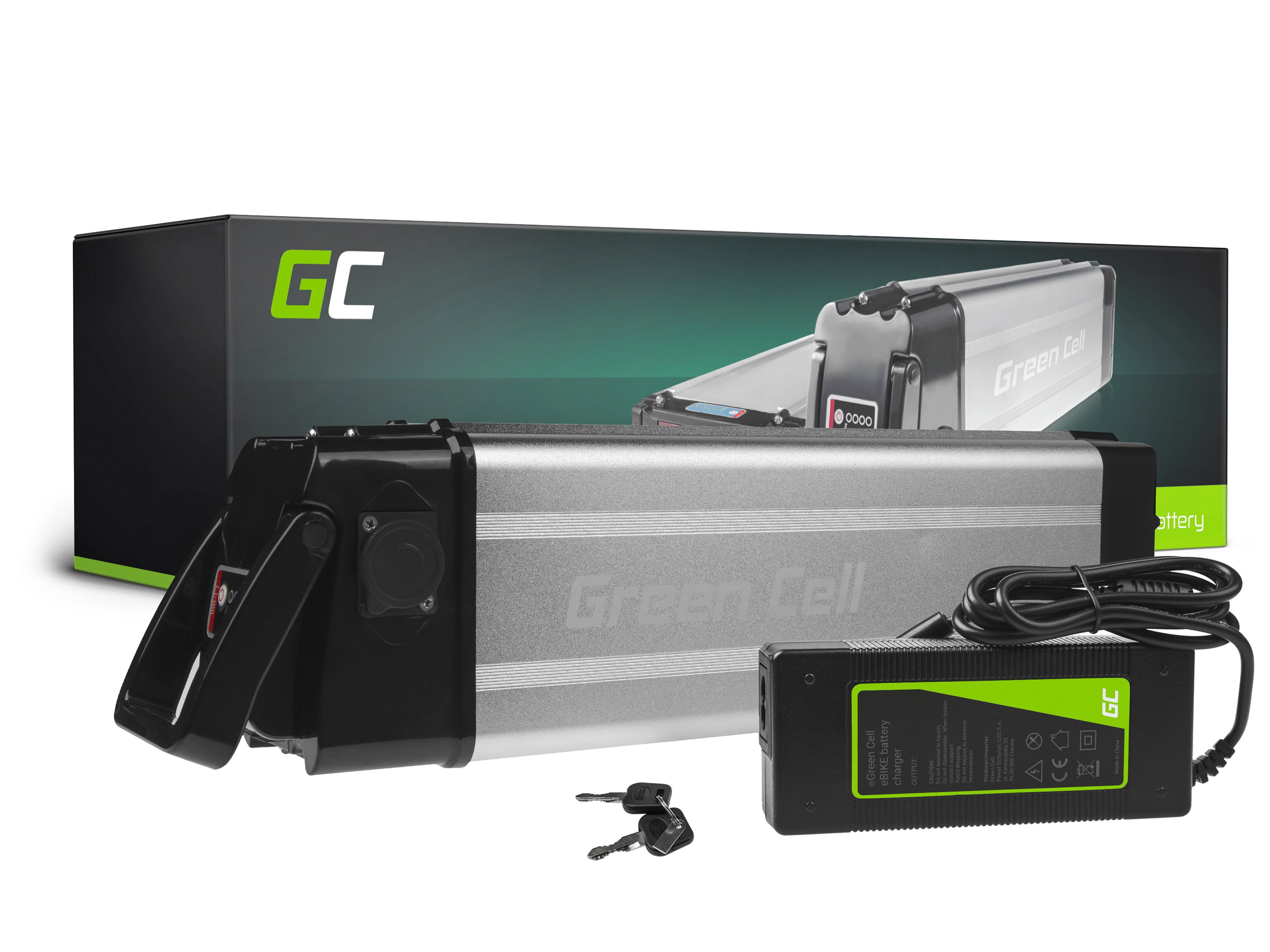 Green Cell Baterie Silverfish 36V 14.5Ah 522Wh pro E-Bike Pedelec