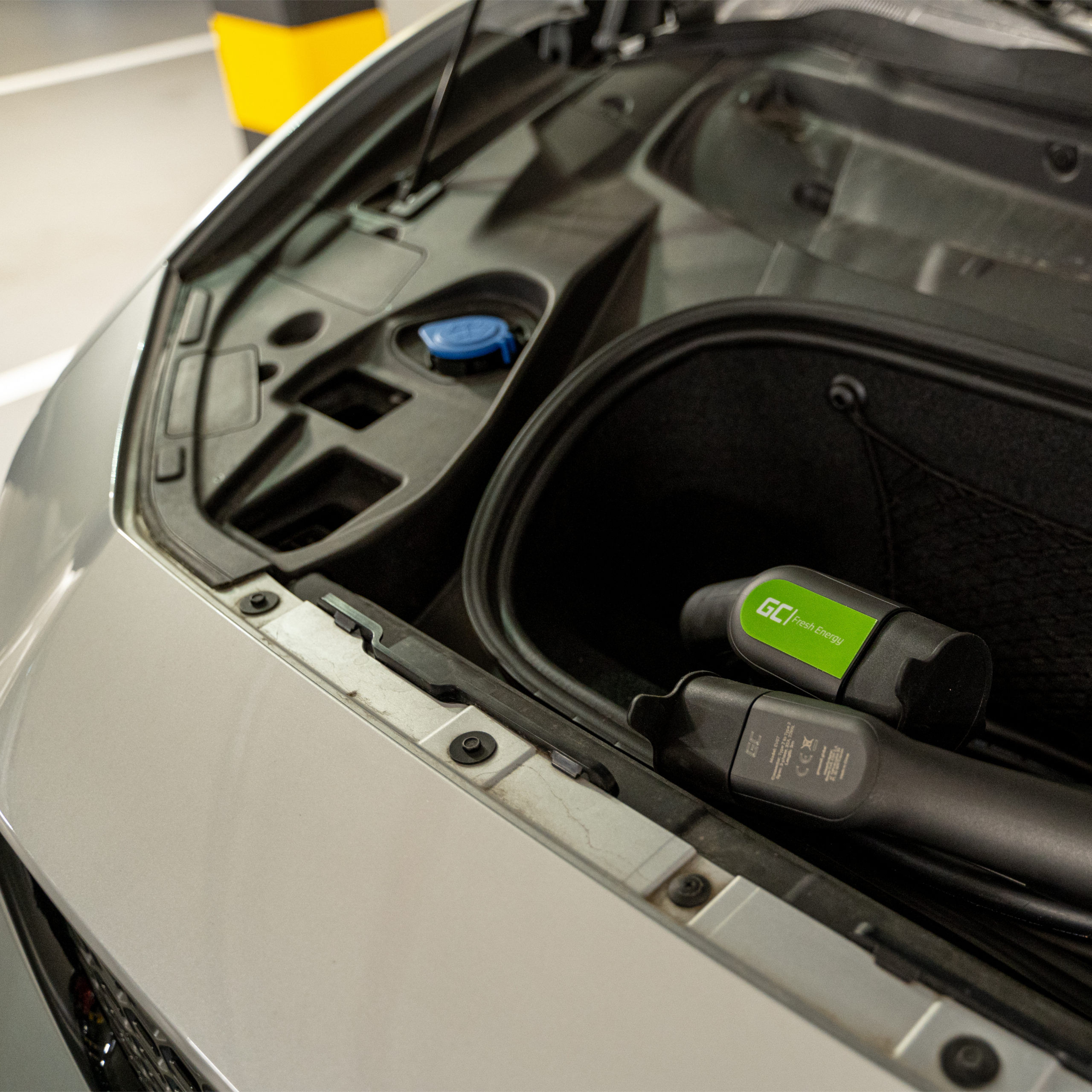 Kabel Green Cell GC EV Type 2 22kW 5 m pro nabíjení Tesla Model 3 / S / X, Leaf, ZOE, i3, ID.3, I-Pace, E-Tron, Taycan