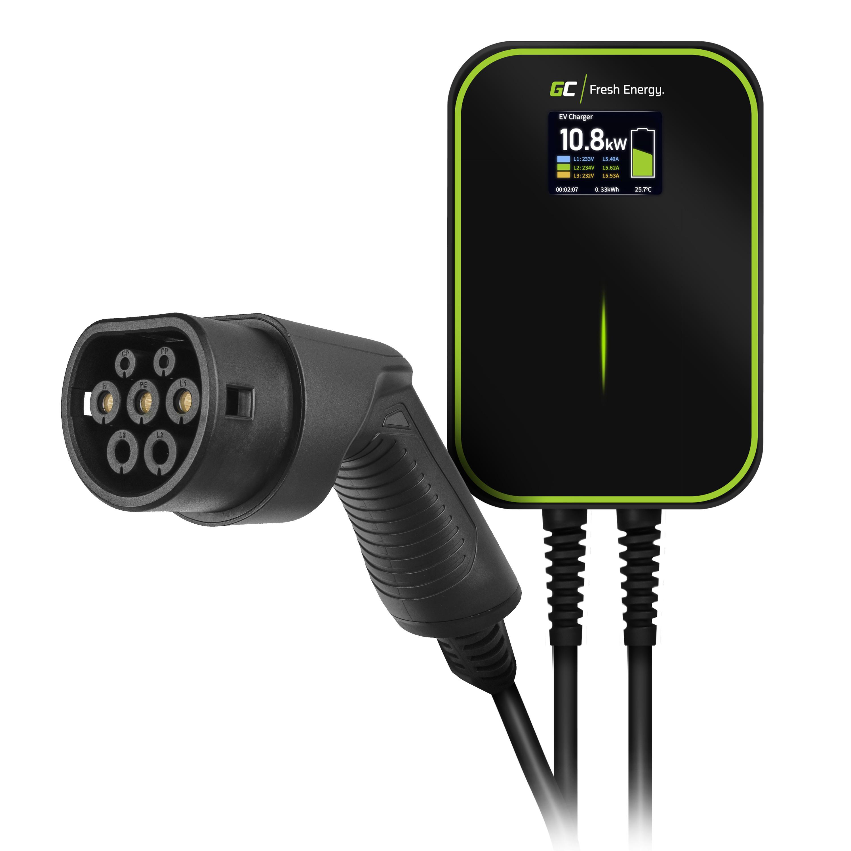 Wallbox GC EV PowerBox 22kW nabíječka s Typ 2 kabel pro napájení elektro mobilů a Plug-In hybrids