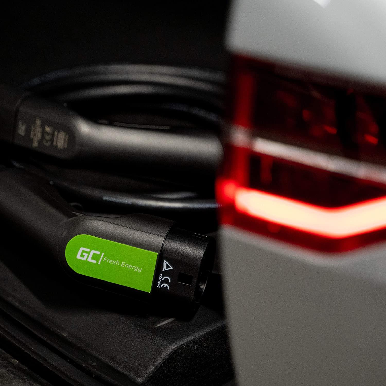 Green Cell Nabíjecí kabel Type 1 7.2kW 32A 5m pro napájení elektro mobilů EV