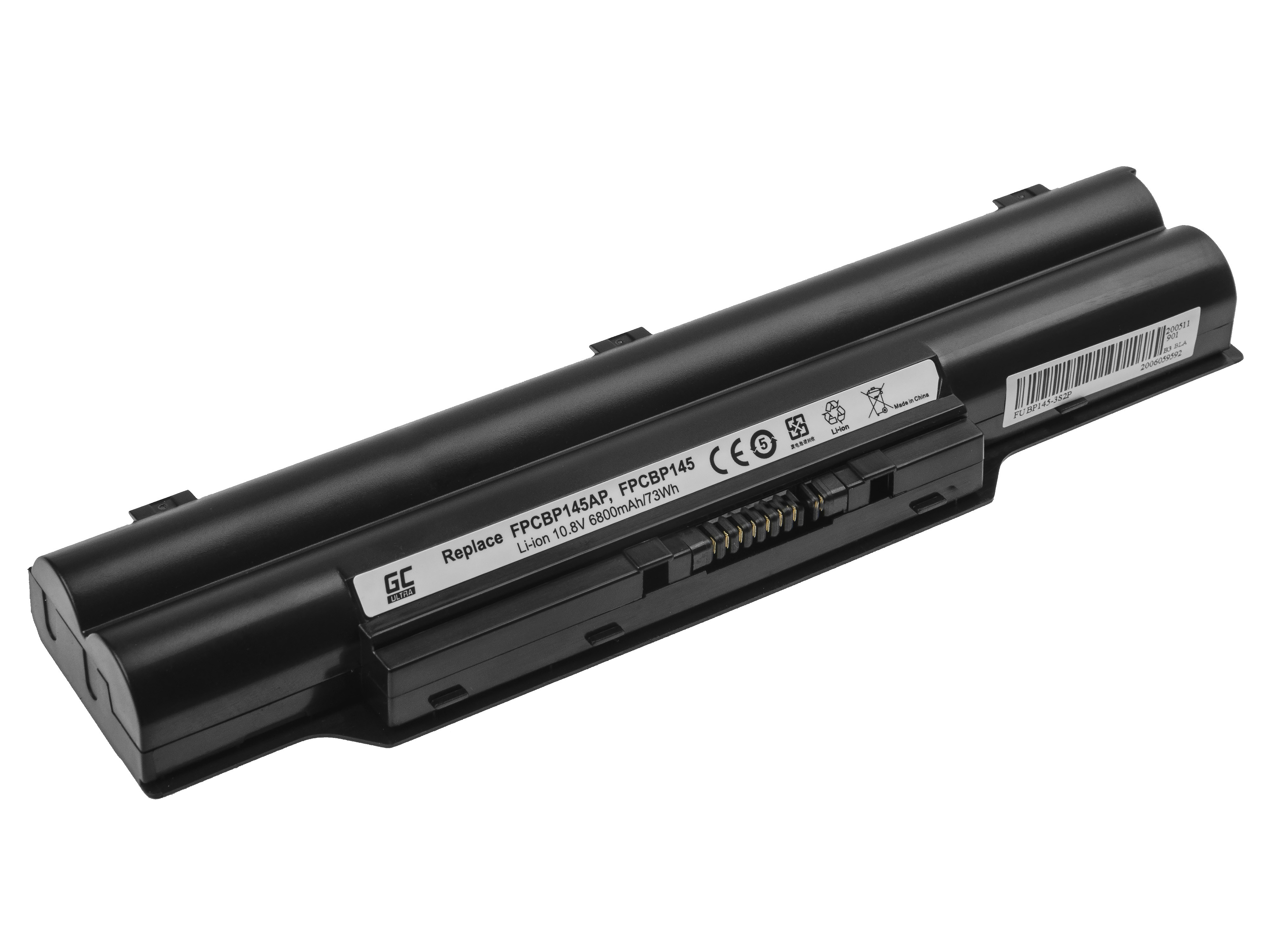 Green Cell ULTRA Baterie FPCBP145 FPCBP282 pro Fujitsu LifeBook E751 E752 E781 E782 P770 P771 P772 S710 S751 S752 S760 S761 S762