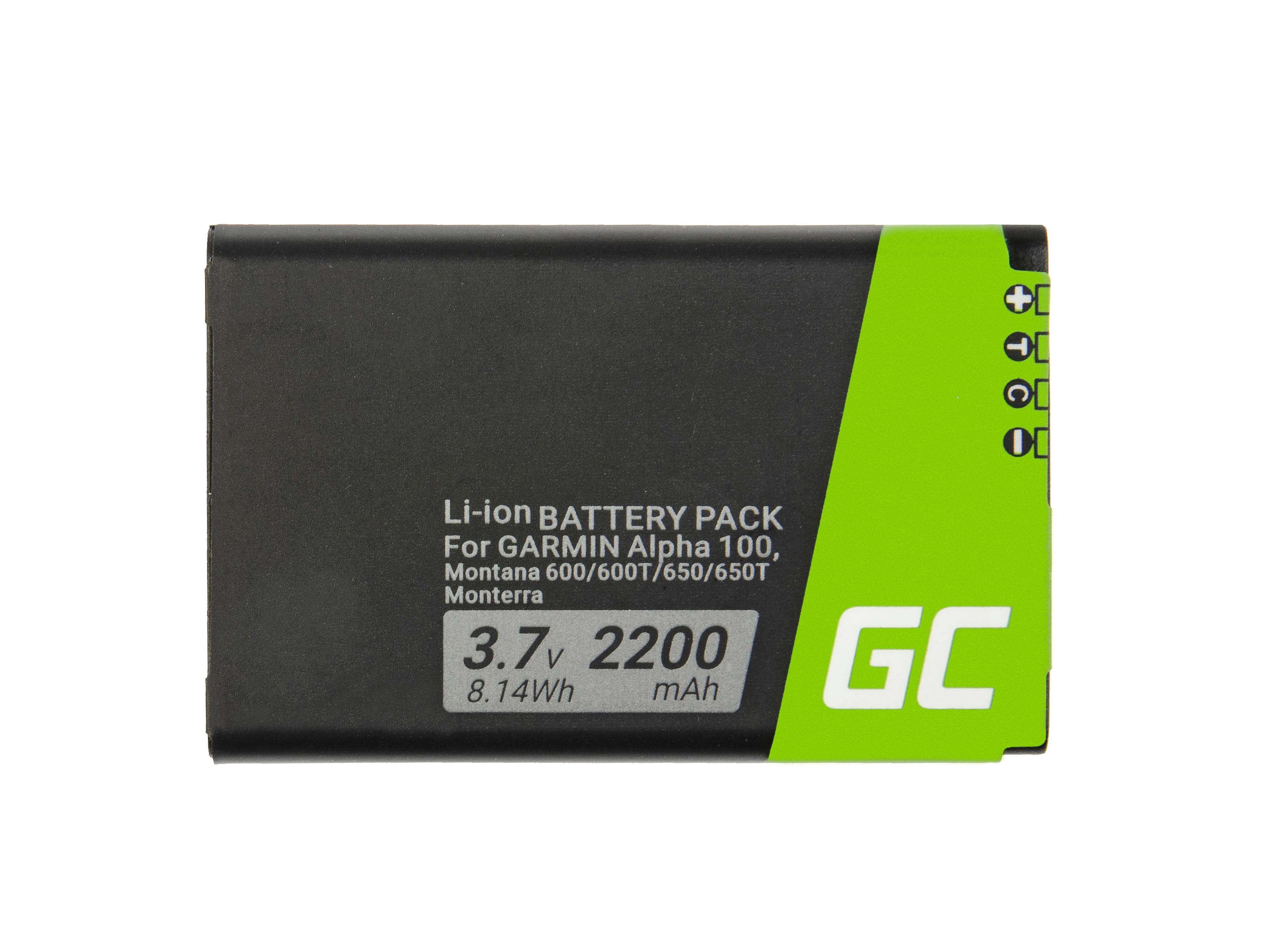 Green Cell Baterie 361-00053-00 pro GPS Garmin Alpha 100 Montana 600 610 650 680