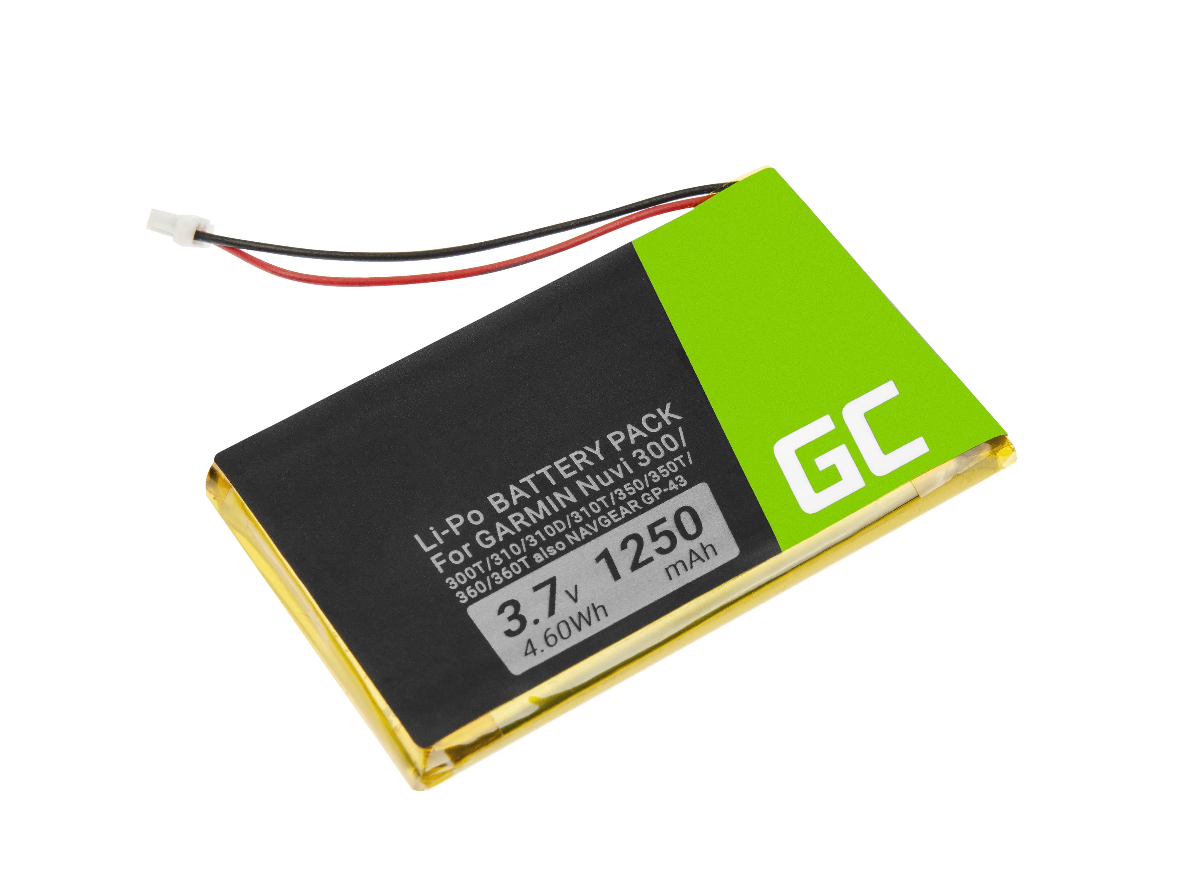 Green Cell Baterie IA2B309C4B32 pro GPS Nuvi 300 310 350 360 600 610 650 660FM