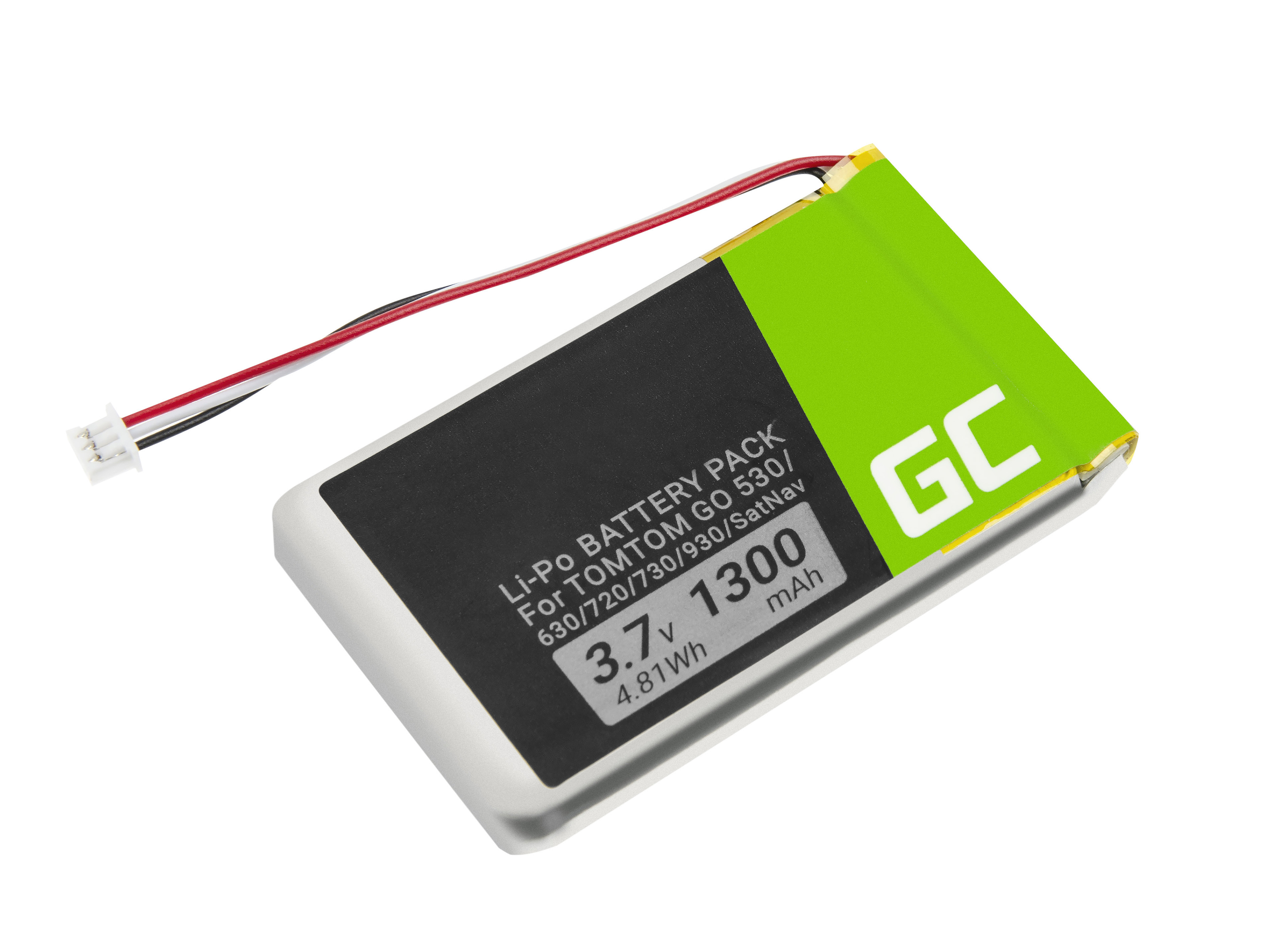Green Cell Baterie VF8 AHL03714000 pro GPS TomTom Go 530 630 720 730 930 X40 X50