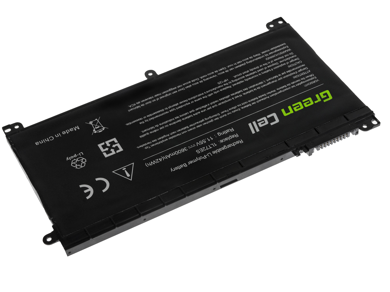 Green Cell HP125 Baterie HP BI03XL ON03XL HP Omen 15-AX HP Pavilion x360 11-U 13-U M3-U HP 14-AX 14-CB 3600mAh Li-Pol - neoriginální