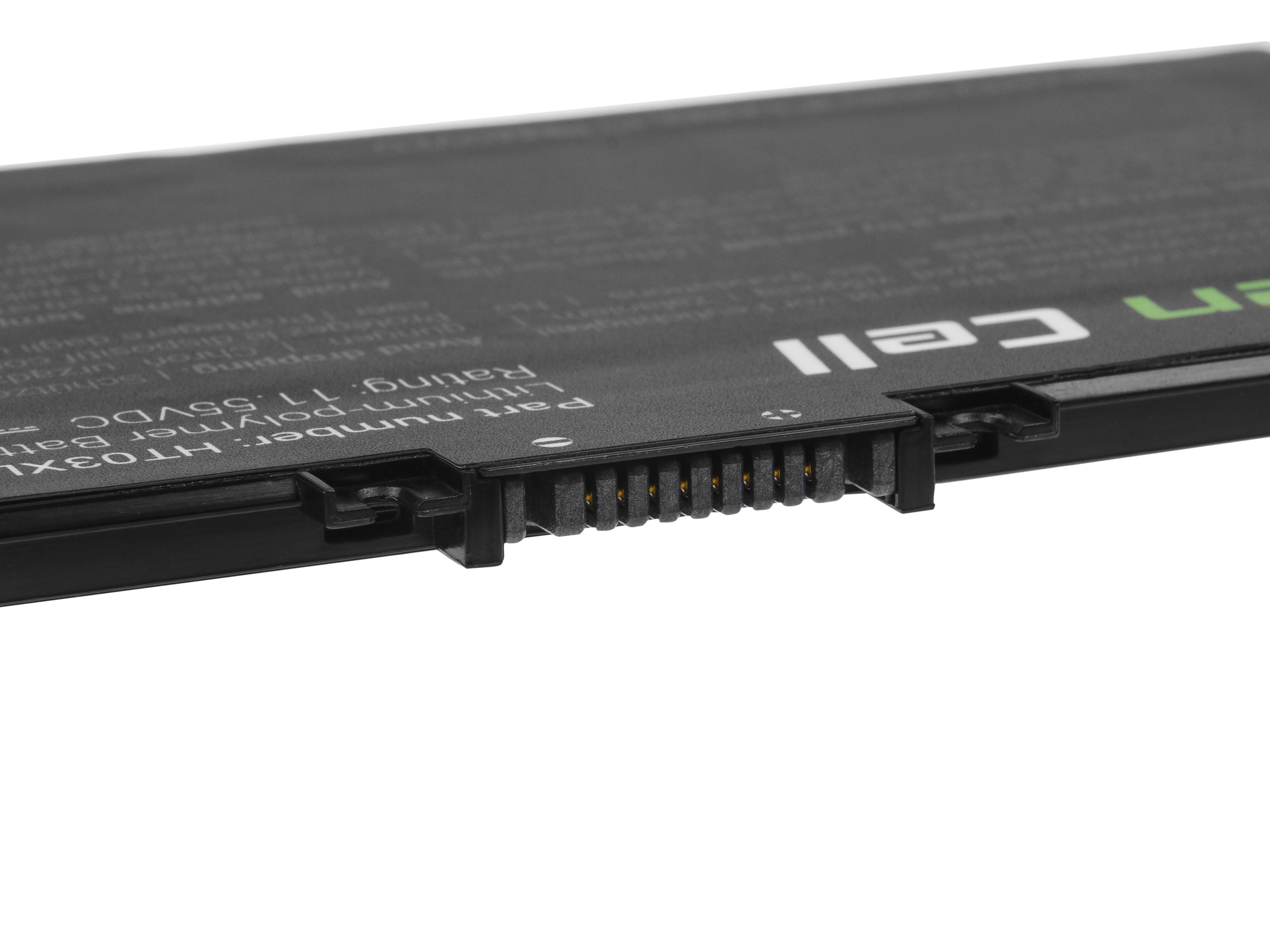 Green Cell HP163 Baterie HP HT03XL,HP 240 G7 245 G7 250 G7 255 G7, HP 14 15 17, HP Pavilion 14 15 3550mAh Li-Pol – neoriginální