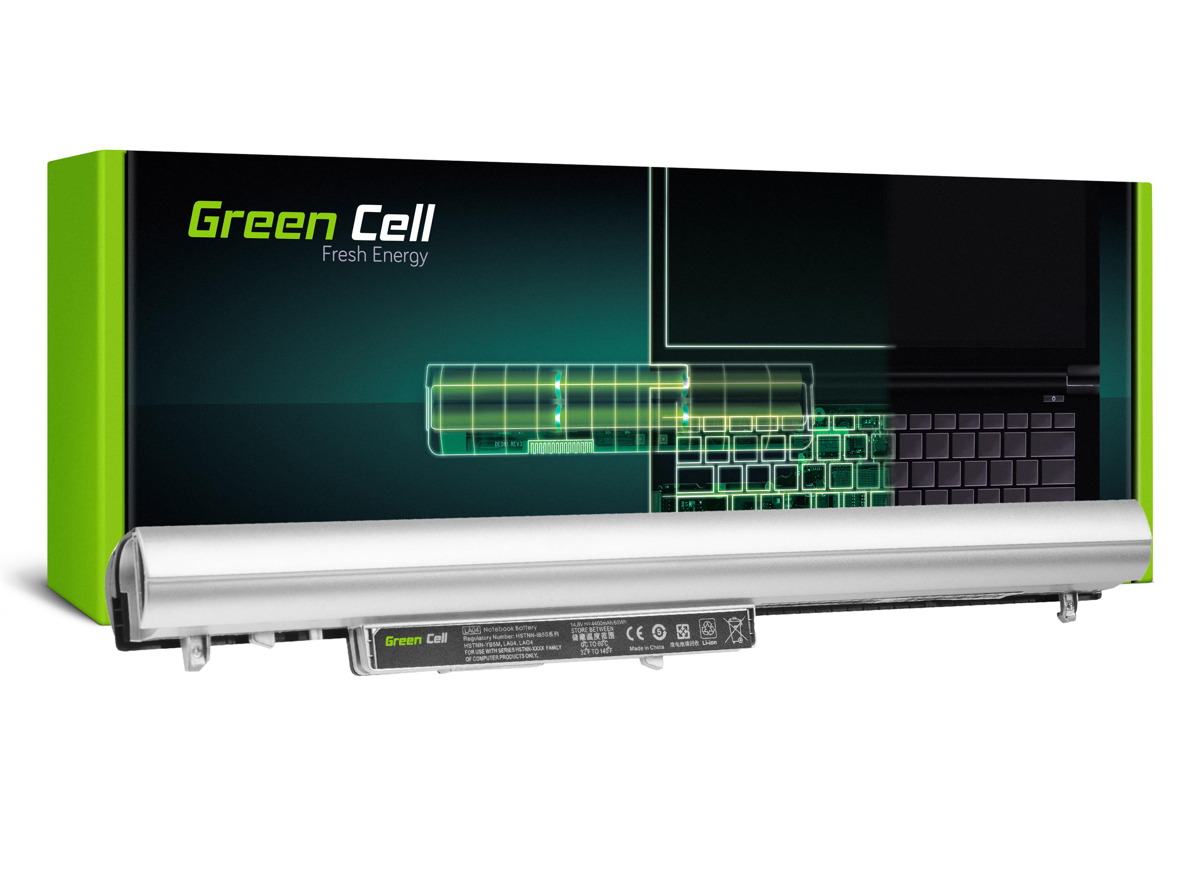 Green Cell HP162 Baterie HP LA04 LA04DF pro HP Pavilion 15-N 15-N025SW 15-N065SW 15-N070SW 15-N080SW 15-N225SW 15-N230SW 4400mAh Li-Ion – neoriginální