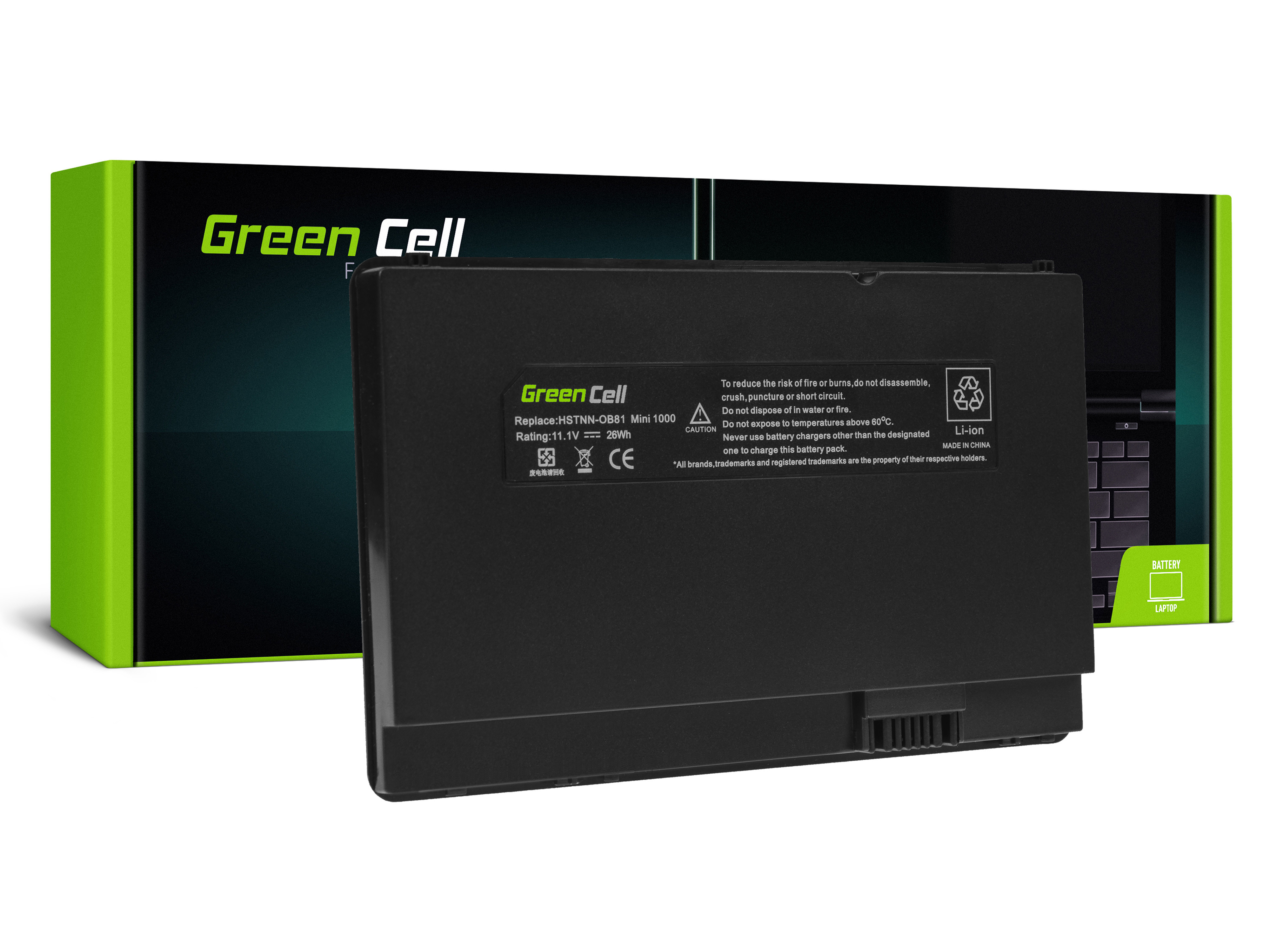 Green Cell Baterie pro HP 1000 1001 1005 1025 Compaq 700 730