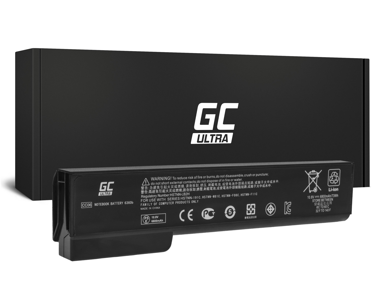 Green Cell Laptop Baterie Baterie ULTRA CC06XL pro HP EliteBook 8460p 8460w 8470p 8560p 8570p ProBook 6460b 6560b 6570b