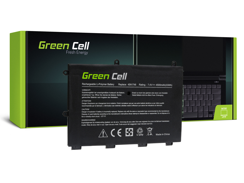 Green Cell Battery for Lenovo ThinkPad Yoga 11e / 7,4V 4500mAh