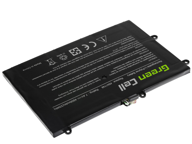 Green Cell LE110 Baterie Lenovo 45N1750 Lenovo ThinkPad Yoga 11e 4500mAh Li-Pol – neoriginální