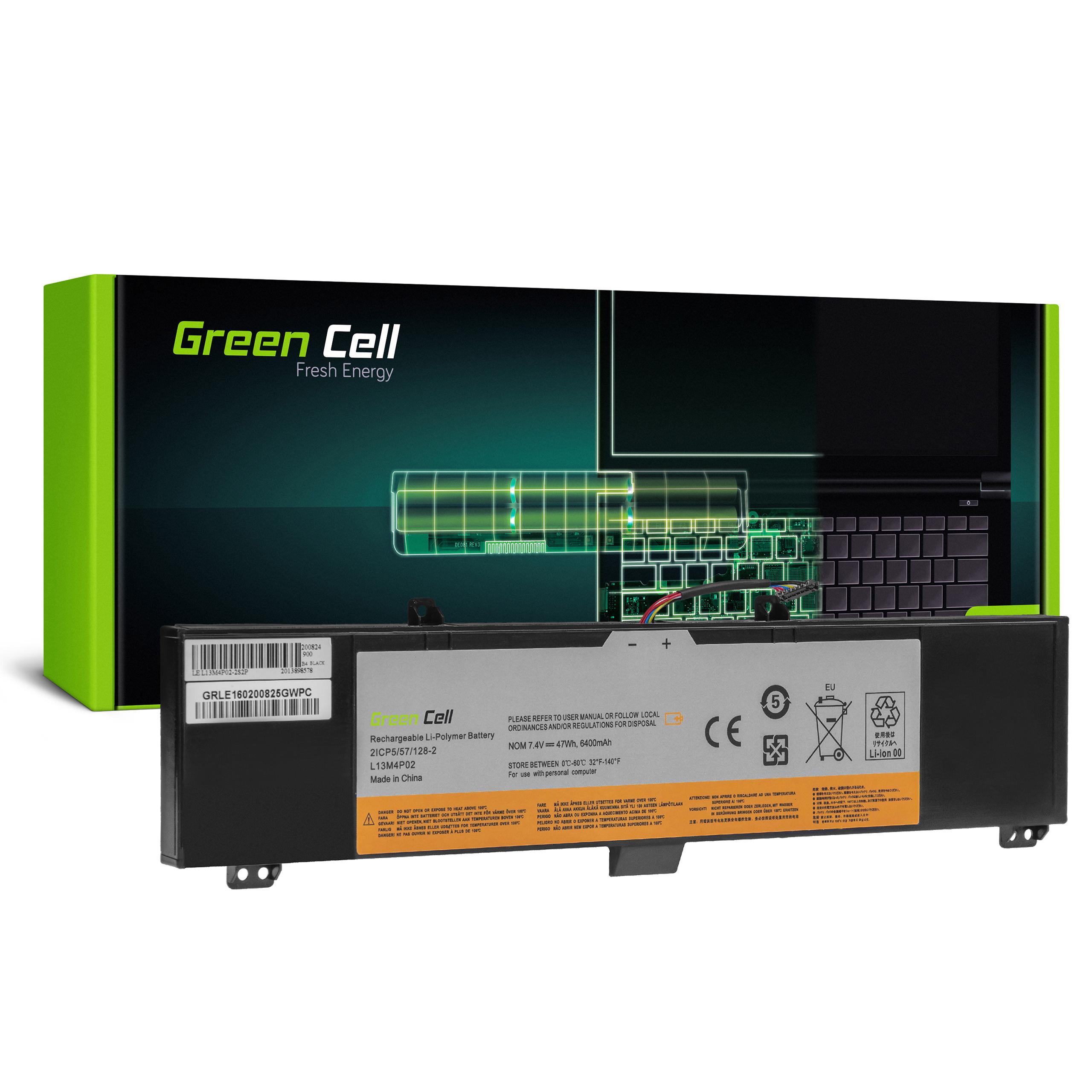 Green Cell Baterie L13M4P02 L13L4P02 L13N4P02 pro Lenovo Y50 Y50-70 Y70 Y70-70
