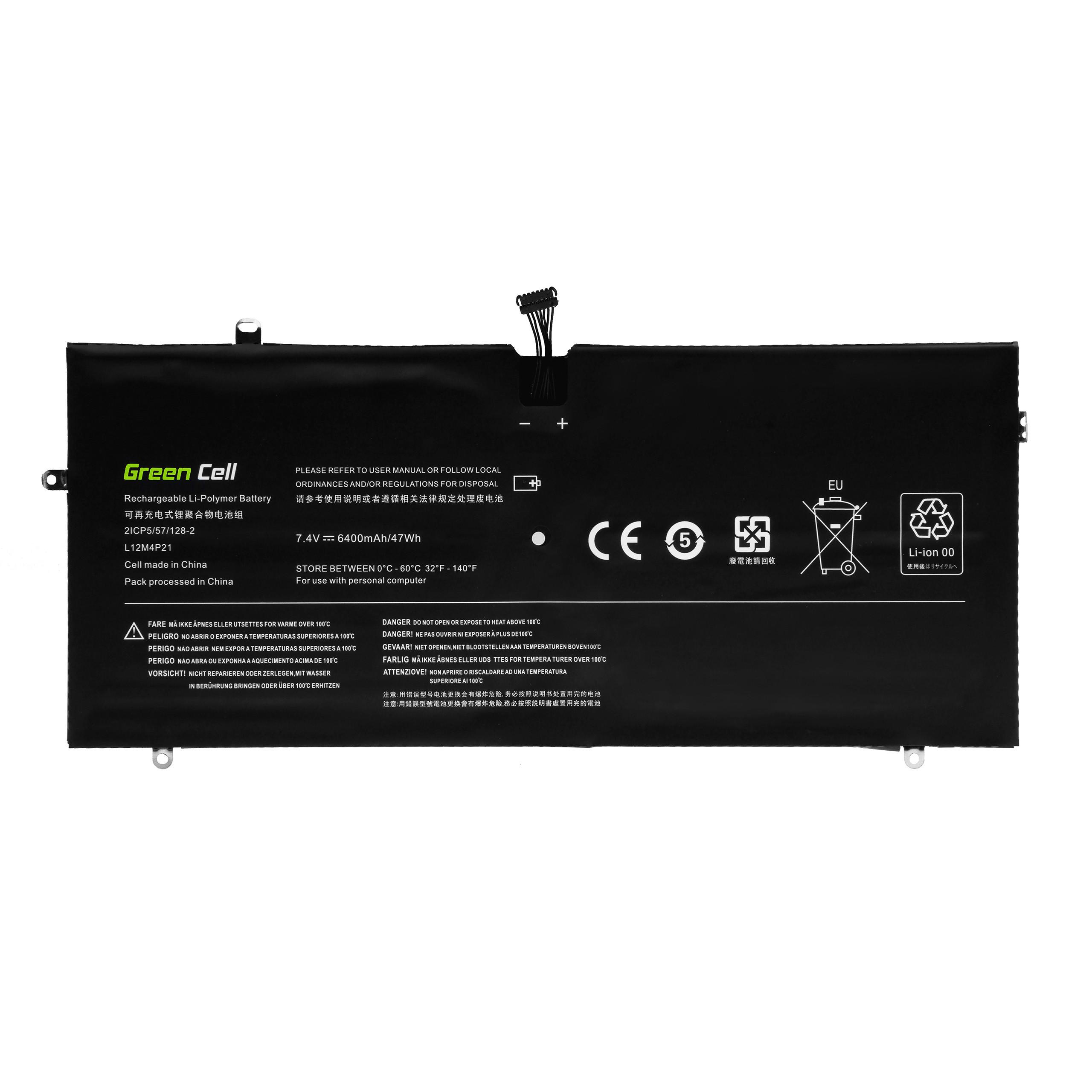 Green Cell Baterie L12M4P21 L13S4P21 pro Lenovo Yoga 2 Pro