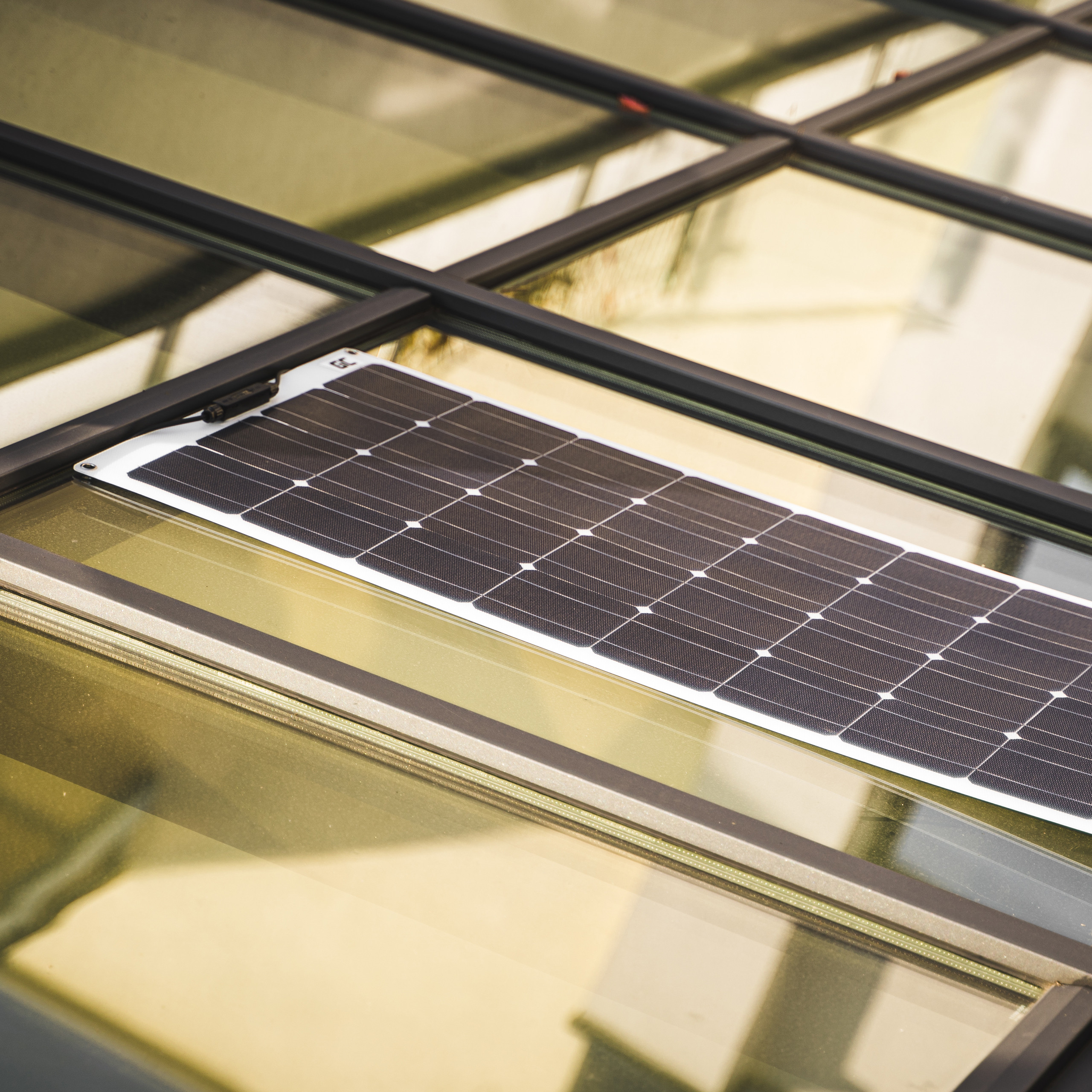 Flexible Solar panel Solar module Green Cell GC SolarFlex 100W / Monocrystalline / 12V 18V / ETFE / MC4