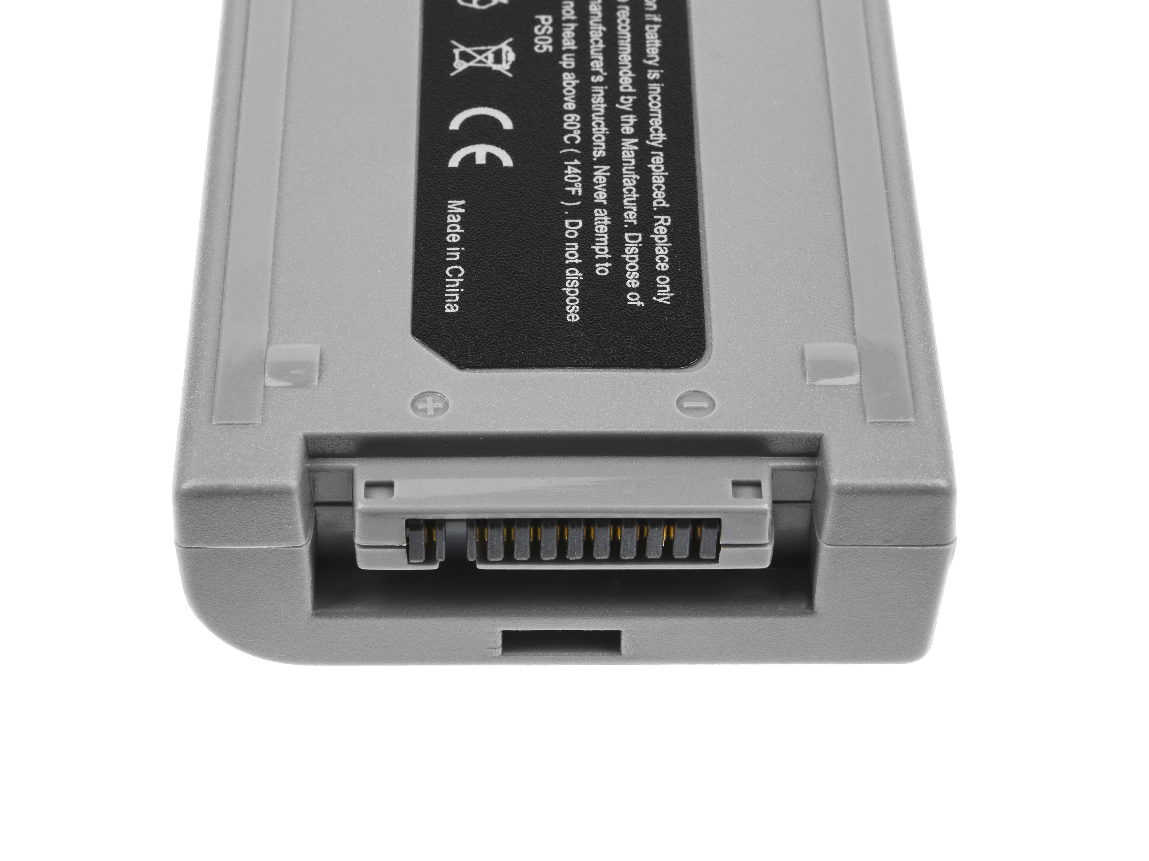 Green Cell PS06 Baterie Panasonic CF-VZSU30B,Panasonic Toughbook CF-18 7400mAh Li-Pol – neoriginální