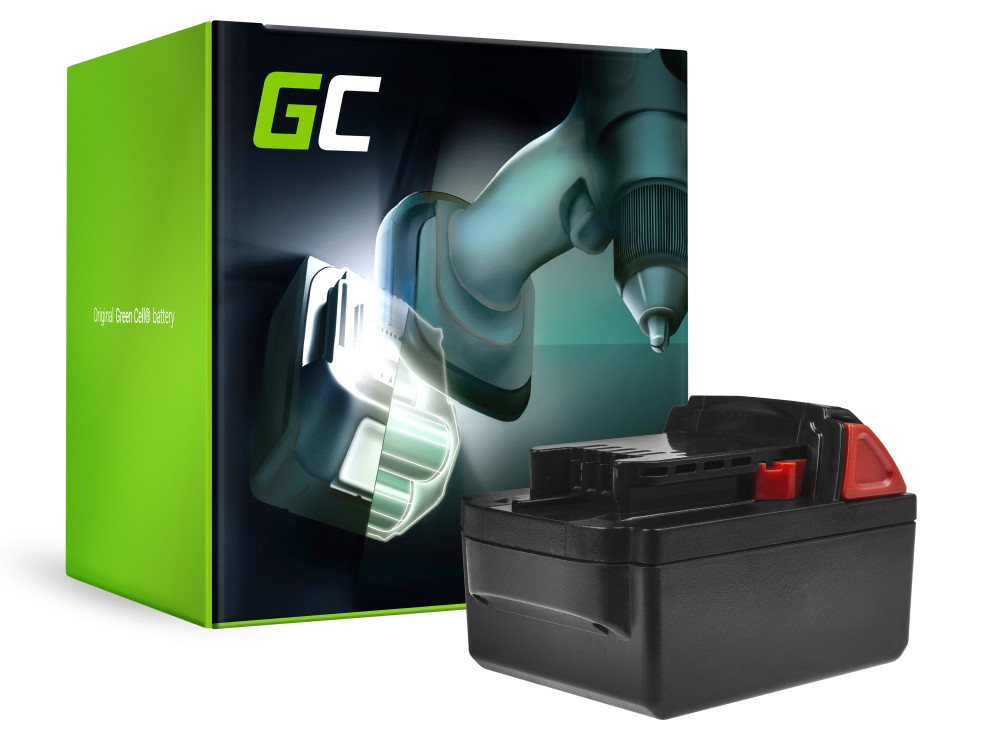 Green Cell Power Tool akkumulátor Milwaukee M18 C18B 982-2 18V 5AH
