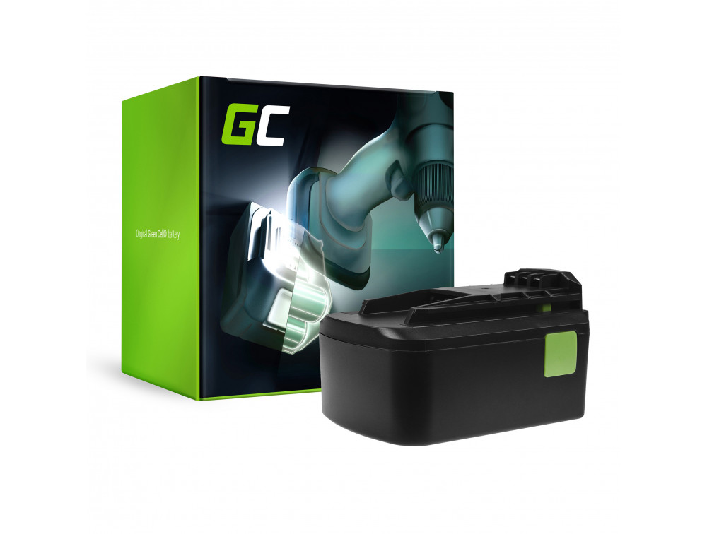 Green Cell Power Tool akkumulátor Festool BPC18 18V 5AH