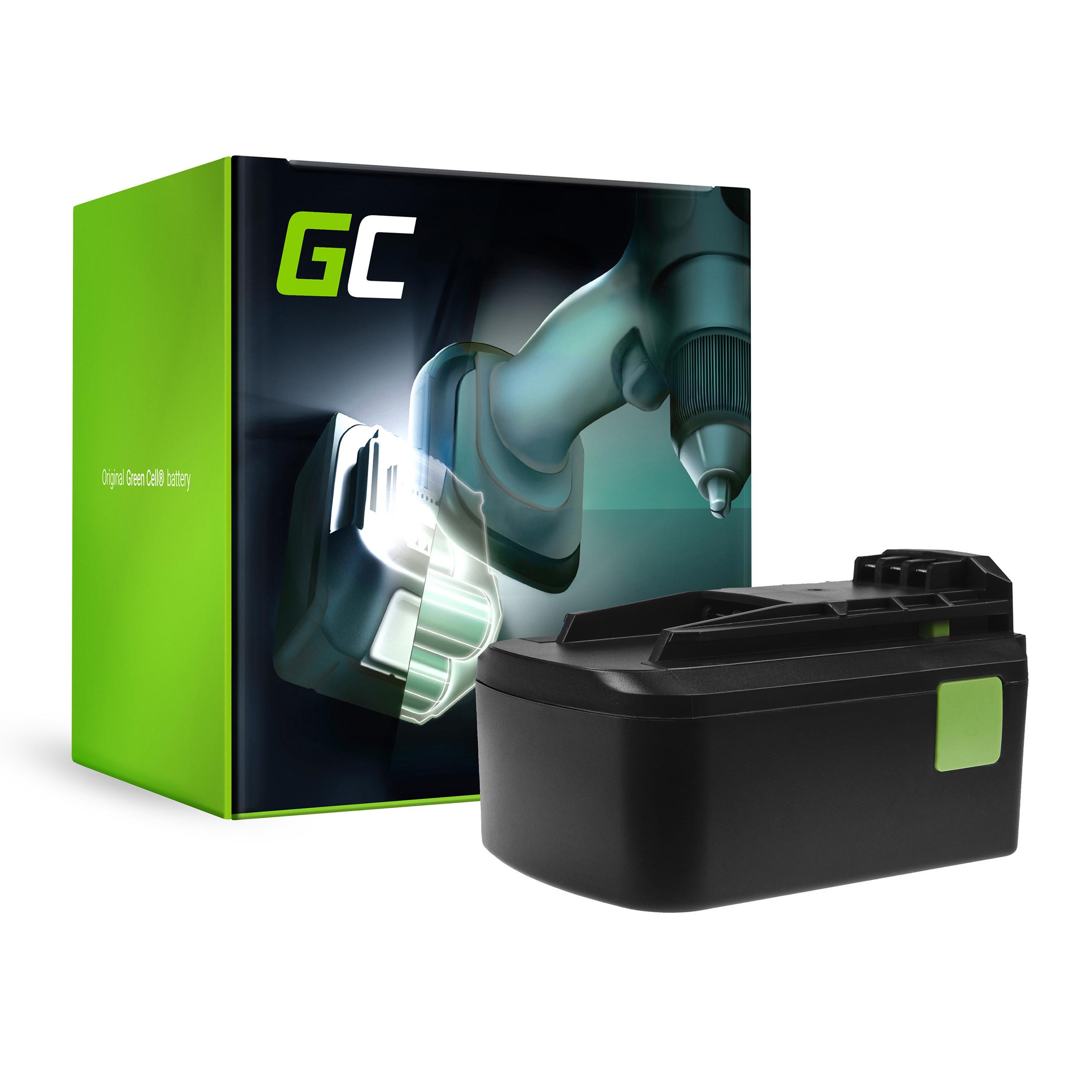 Green Cell Baterie Festool BPC18 18V 5Ah