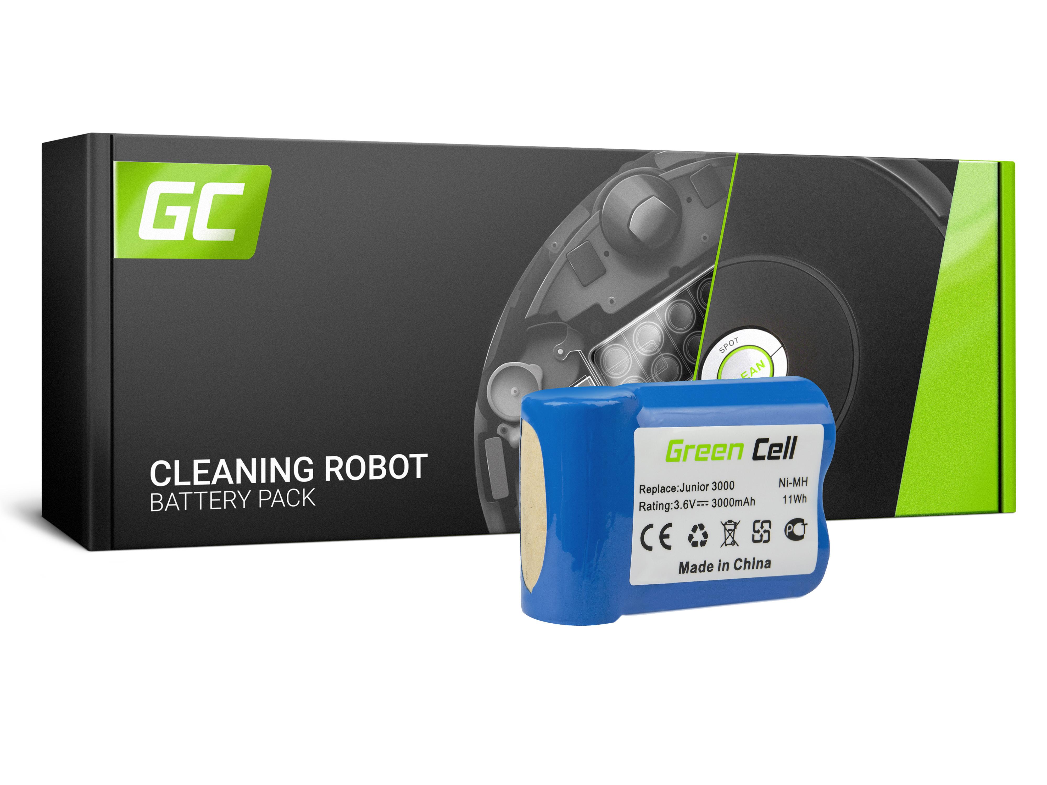 Baterie Green Cell Electrolux Type141 AEG Electrolux Junior 2.0 3.6V 3000mAh Ni-MH – neoriginální