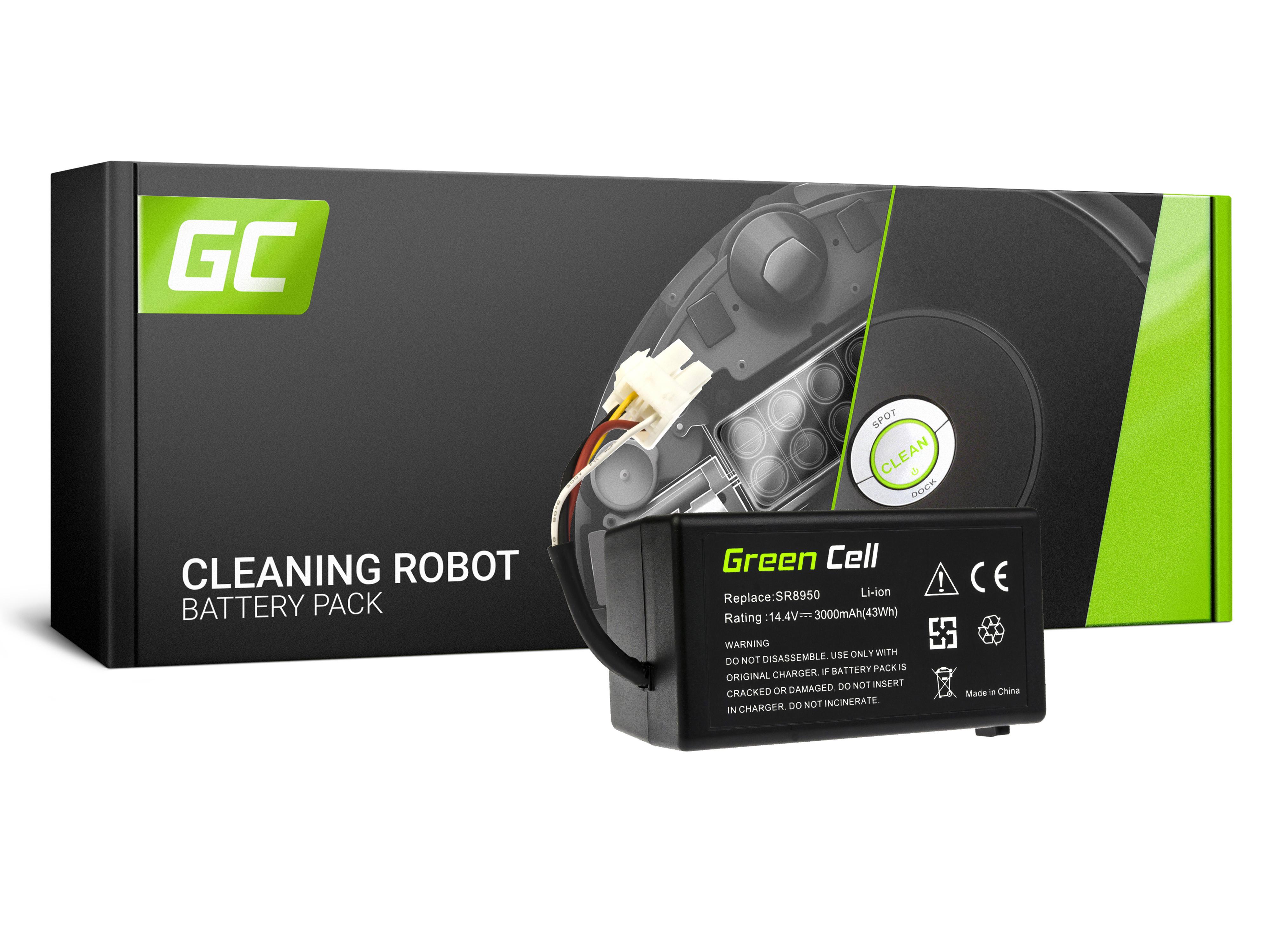 Baterie Green Cell Samsung NaviBot SR8930 SR8940 SR8950 SR8980 SR8981 SR8987 SR8988 14.4V 3000 mAh Li-ion - neoriginální