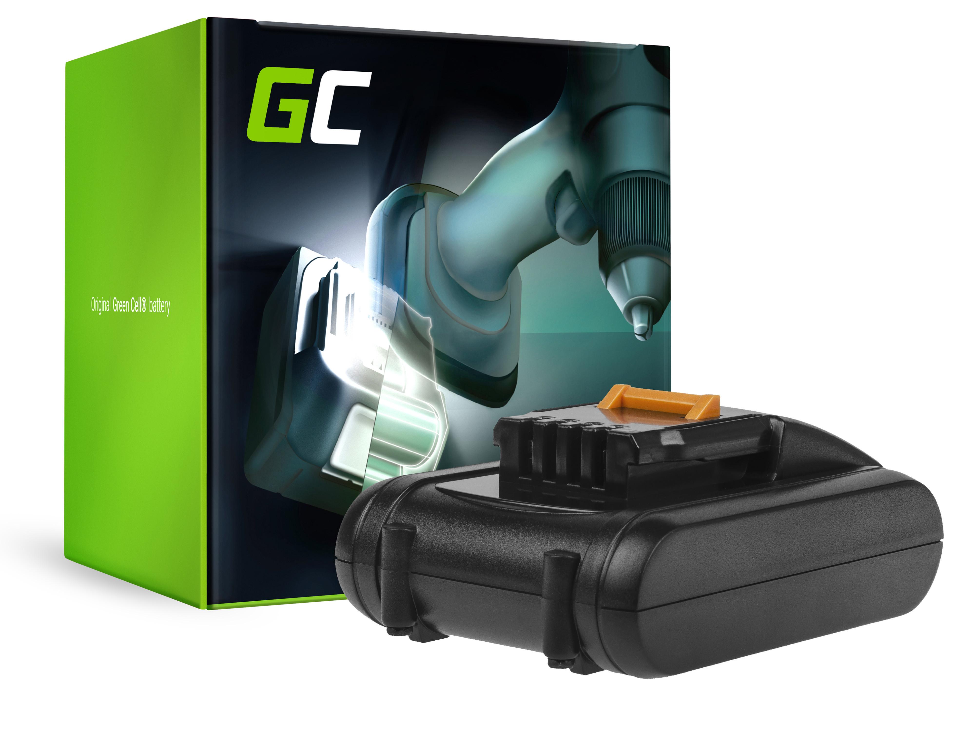 Green Cell PT210 Baterie Worx WA3549 WA3551,WORX WG160E WG169E WG546E WG549E WG894E WX090 WX166 WX167 WX292 WX372 WX390 WX523 WX678 20V 2000mAh Li-ion - neoriginální