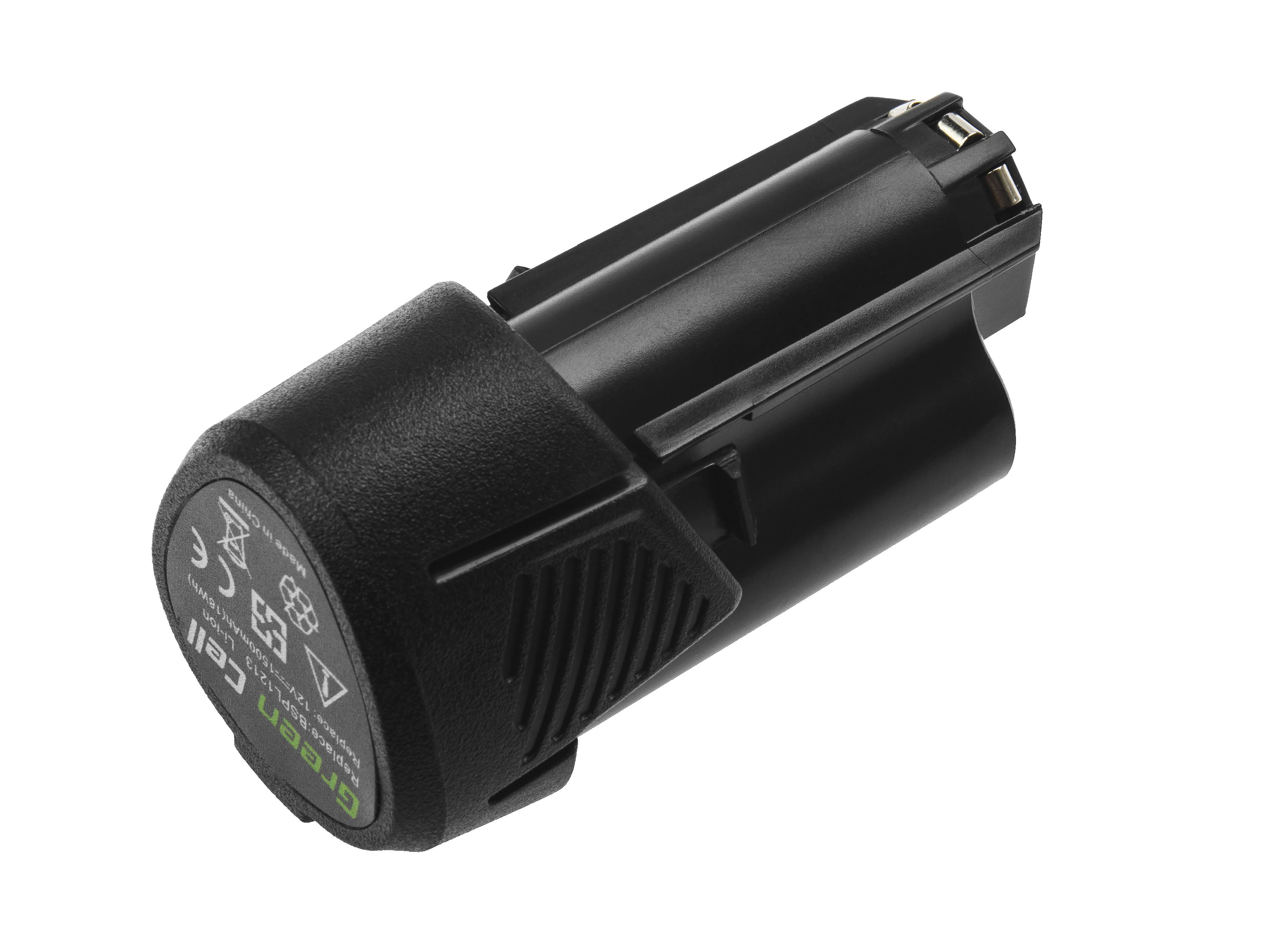Green Cell Battery (1.5Ah 12V) BSPL1213 B-1013L for RYOBI RCD1201 RCD12011L RCD12012L RCD12011L RCD RMT 1201 R12DD-LL13S