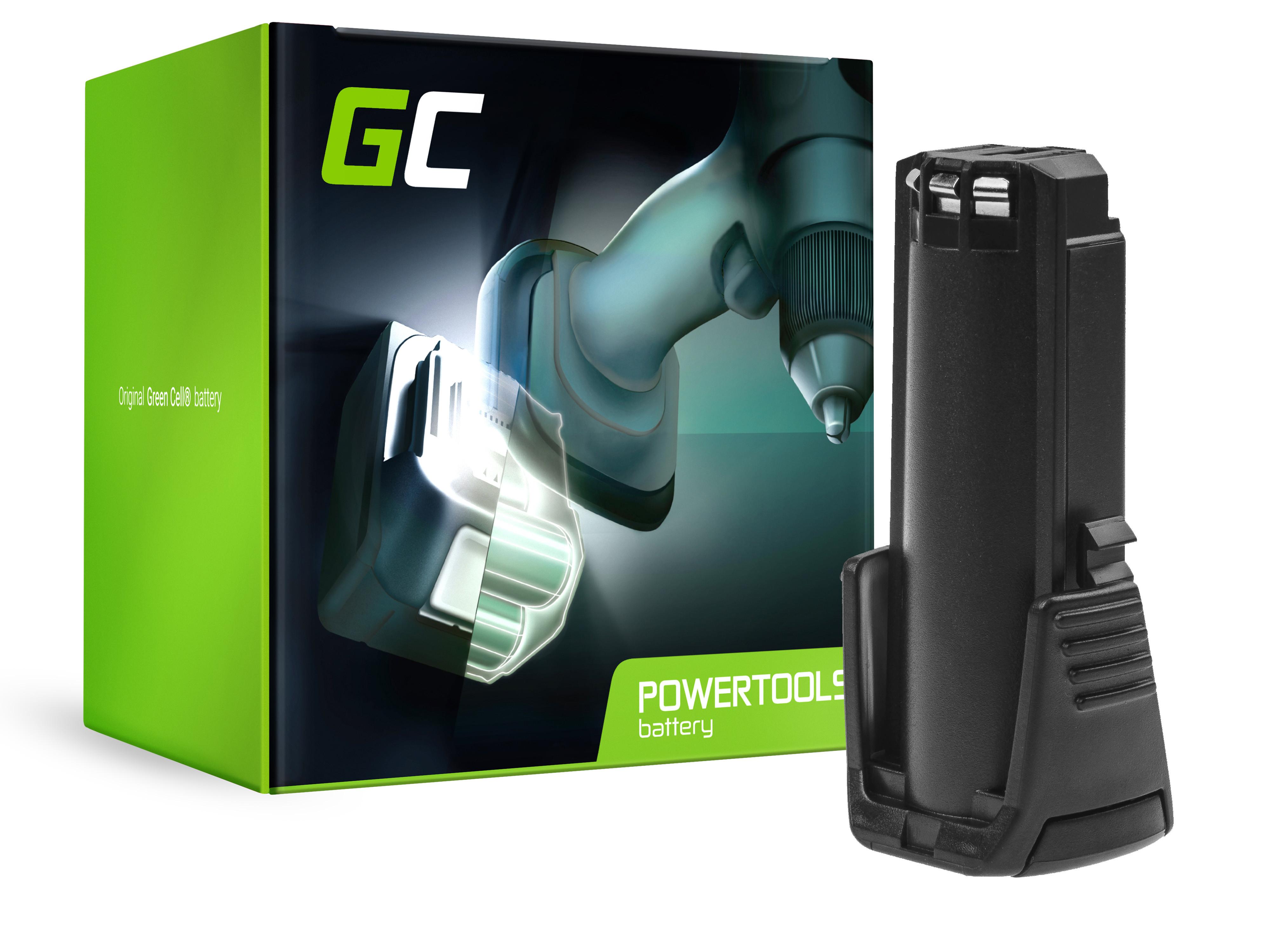 Green Cell PT240 Baterie Bosch BAT504 2607336242, Bosch GSR GBA 3.6 V-LI PRODRIVE Mx2Drive 2000mAh Li-ion - neoriginální
