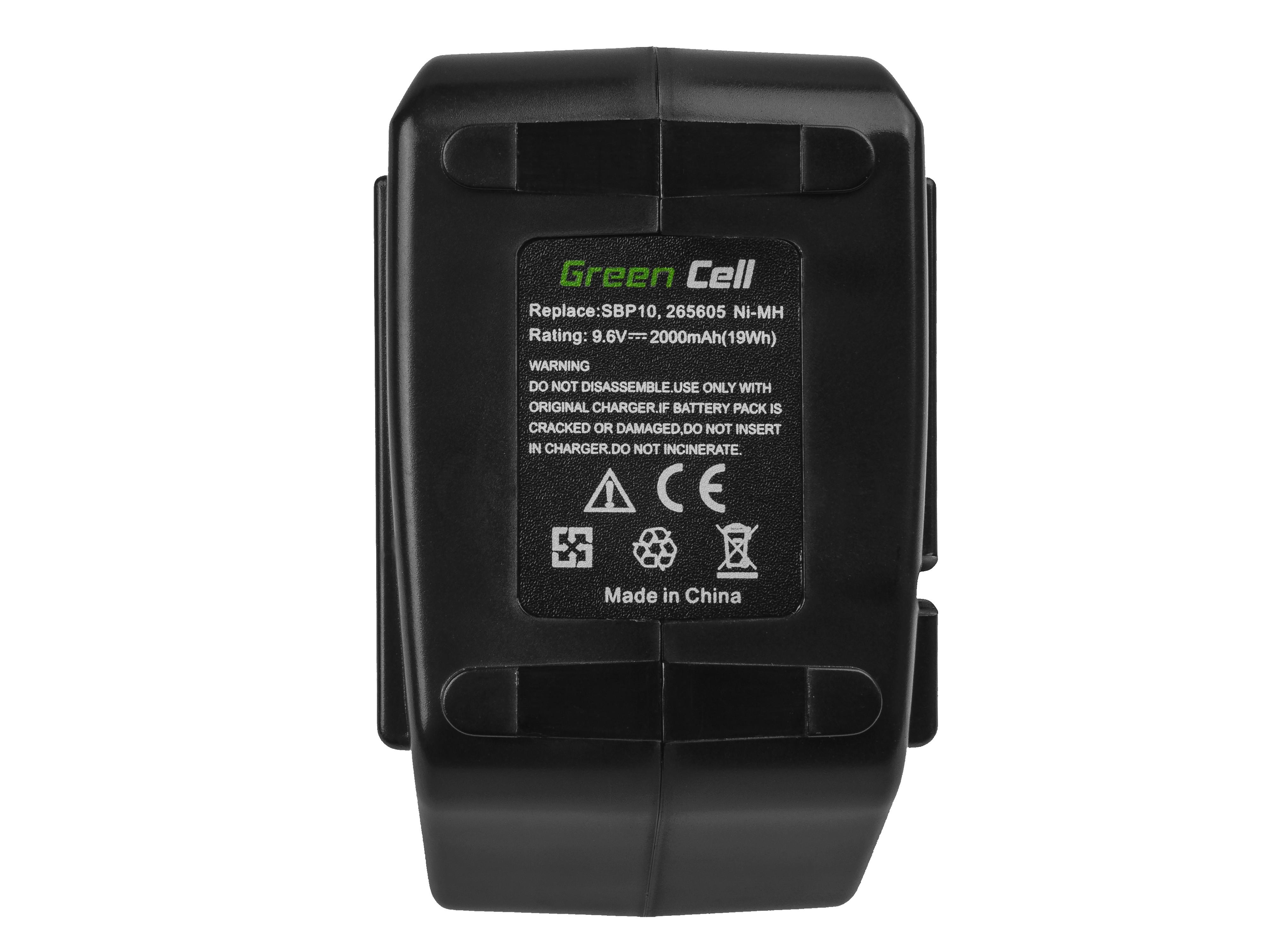 Green Cell PT244 Baterie Hilti SBP 10 SBP10 SFB 105 SFB105 265605 SBP-10 SPB10, Hilti SB 10 SB10 SF-100A BD2000 SB-10 SF 100A 2000mAh Ni-MH - neoriginální