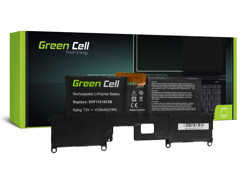 Green Cell Battery for Sony Vaio Pro 11 / 11,1V 4120mAh