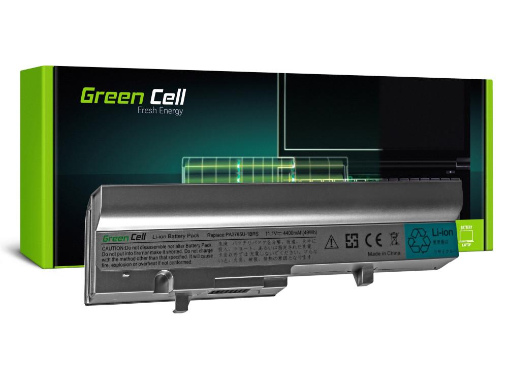 Green Cell notebook akkumulátor PA3785U-1BRS Toshiba Mini NB300 NB305 (ezüst)