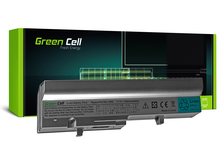 Green Cell TS11SR Baterie Toshiba PA3785U-1BRS Toshiba Mini NB300 NB305 (šedá/stříbrná) 4400mAh Li-ion - neoriginální