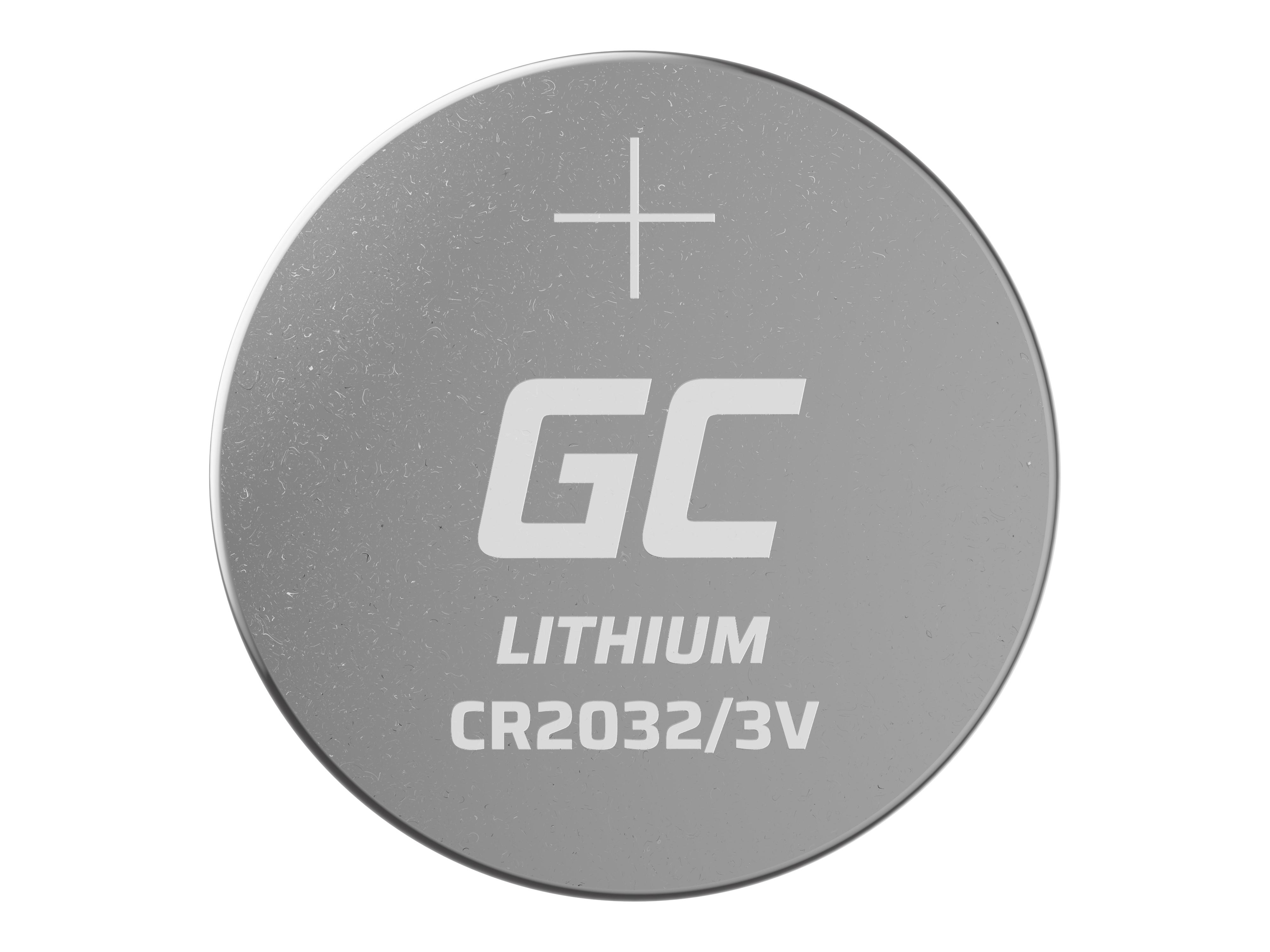 Green Cell XCR05 Baterie CR2032 5ks 3V 220mAh Li