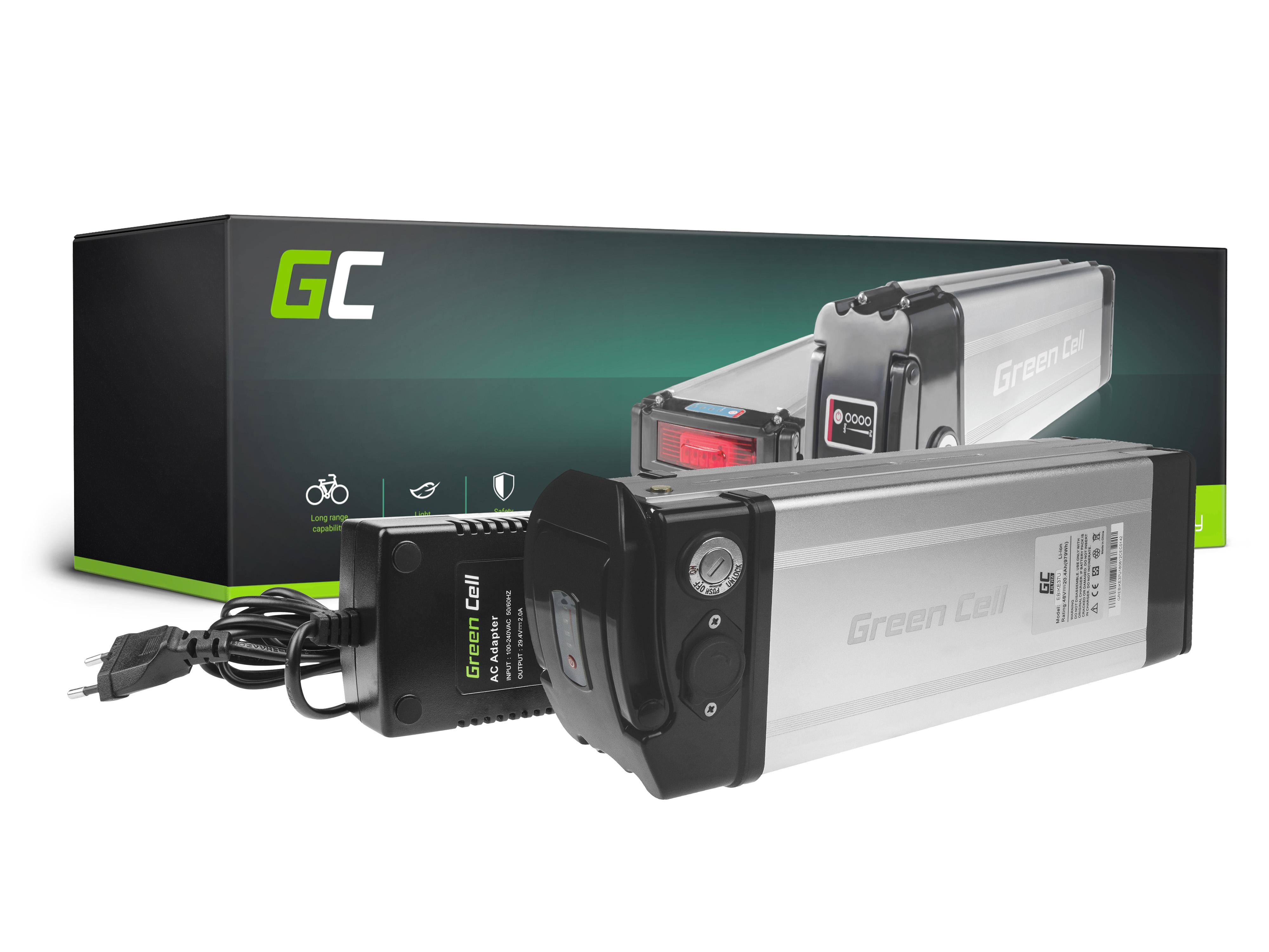 Green Cell eBike Baterie Silverfish 48V 20,4Ah 979Wh E-Bike Pedelec