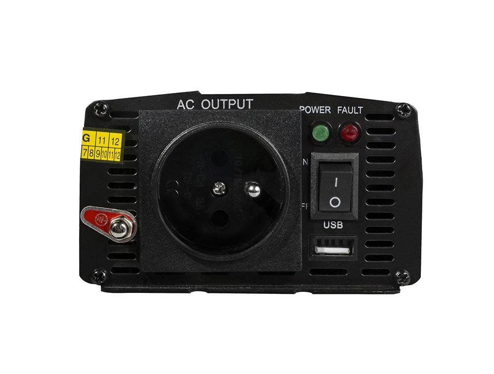 Green Cell Car Power Inverter 24V for 230V, 300W/600W Full Sine wave