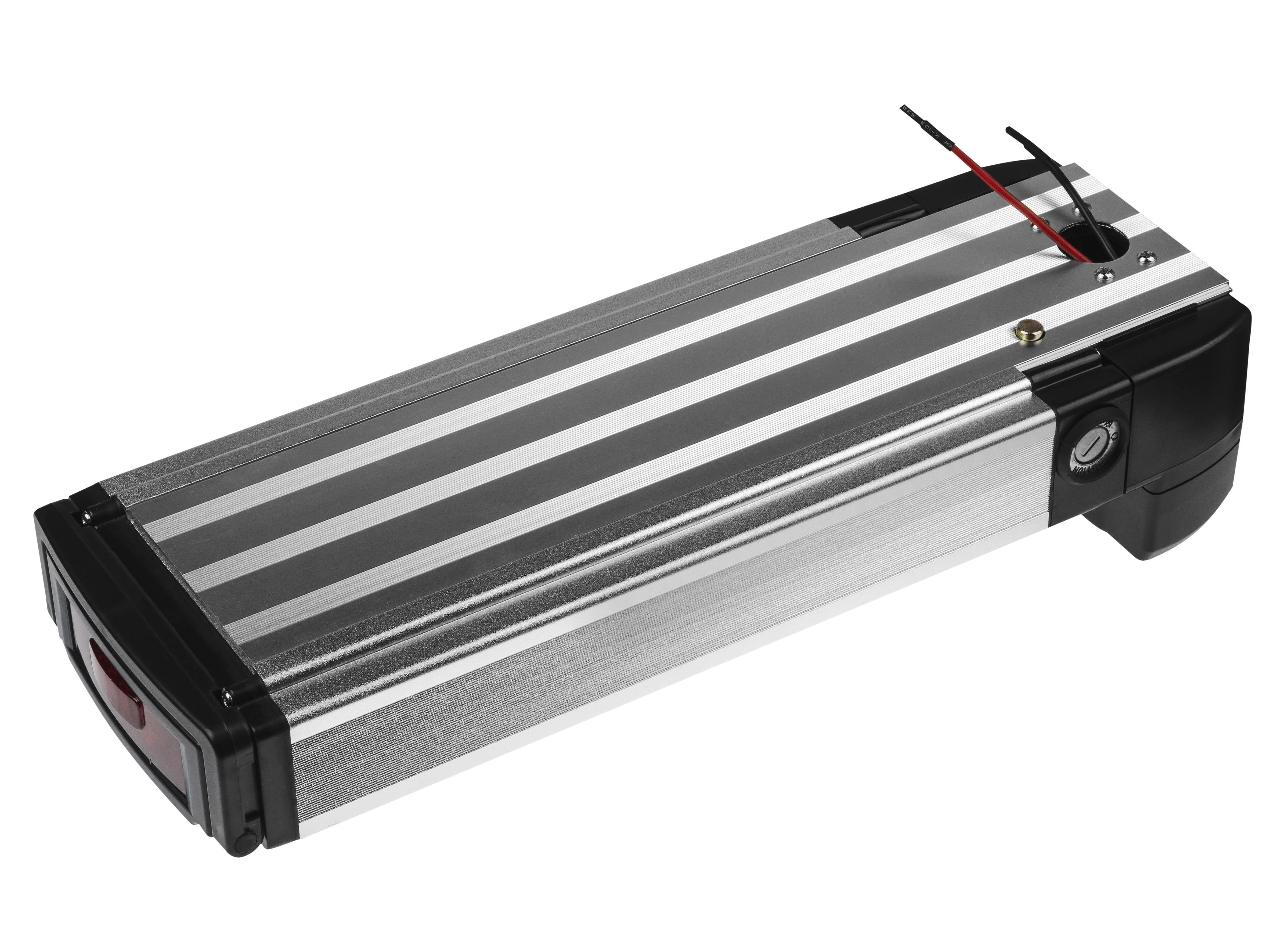 Battery Green Cell Rear Rack 36V 12Ah 432Wh for E-Bike Pedelec