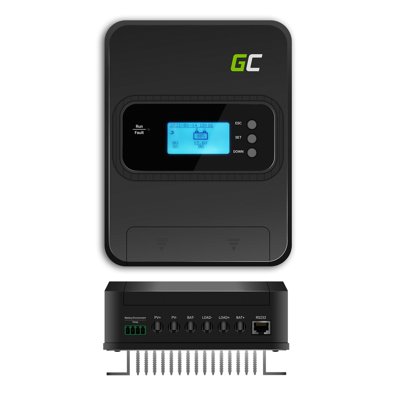 Solar controler / charging regulator MPPT 30A for system 12V/24V/36V/48V - PV 145V (VOC)